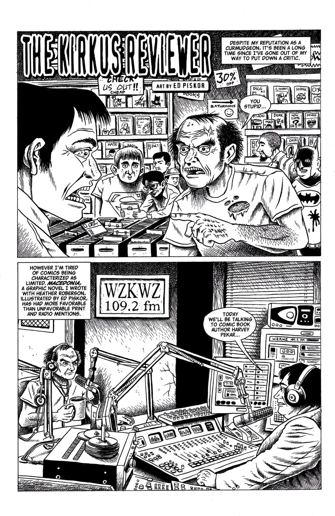 Read online American Splendor (2008) comic -  Issue #1 - 24