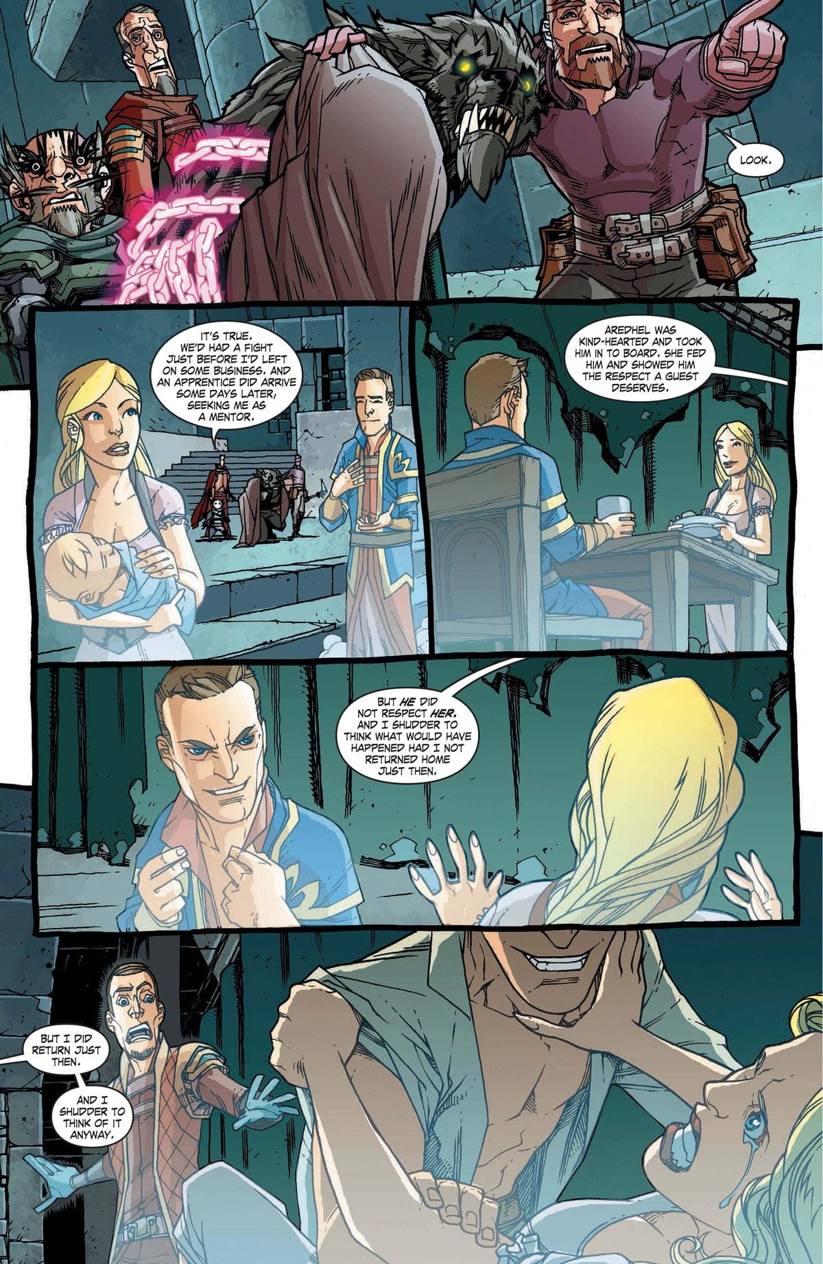 Read online World of Warcraft: Dark Riders comic -  Issue # Full - 132