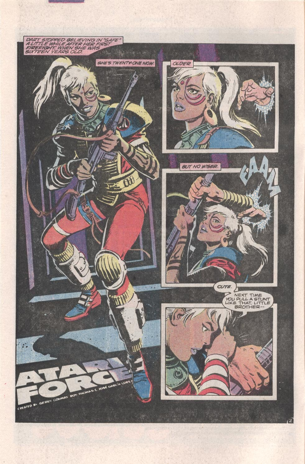 Read online Atari Force (1984) comic -  Issue #4 - 3
