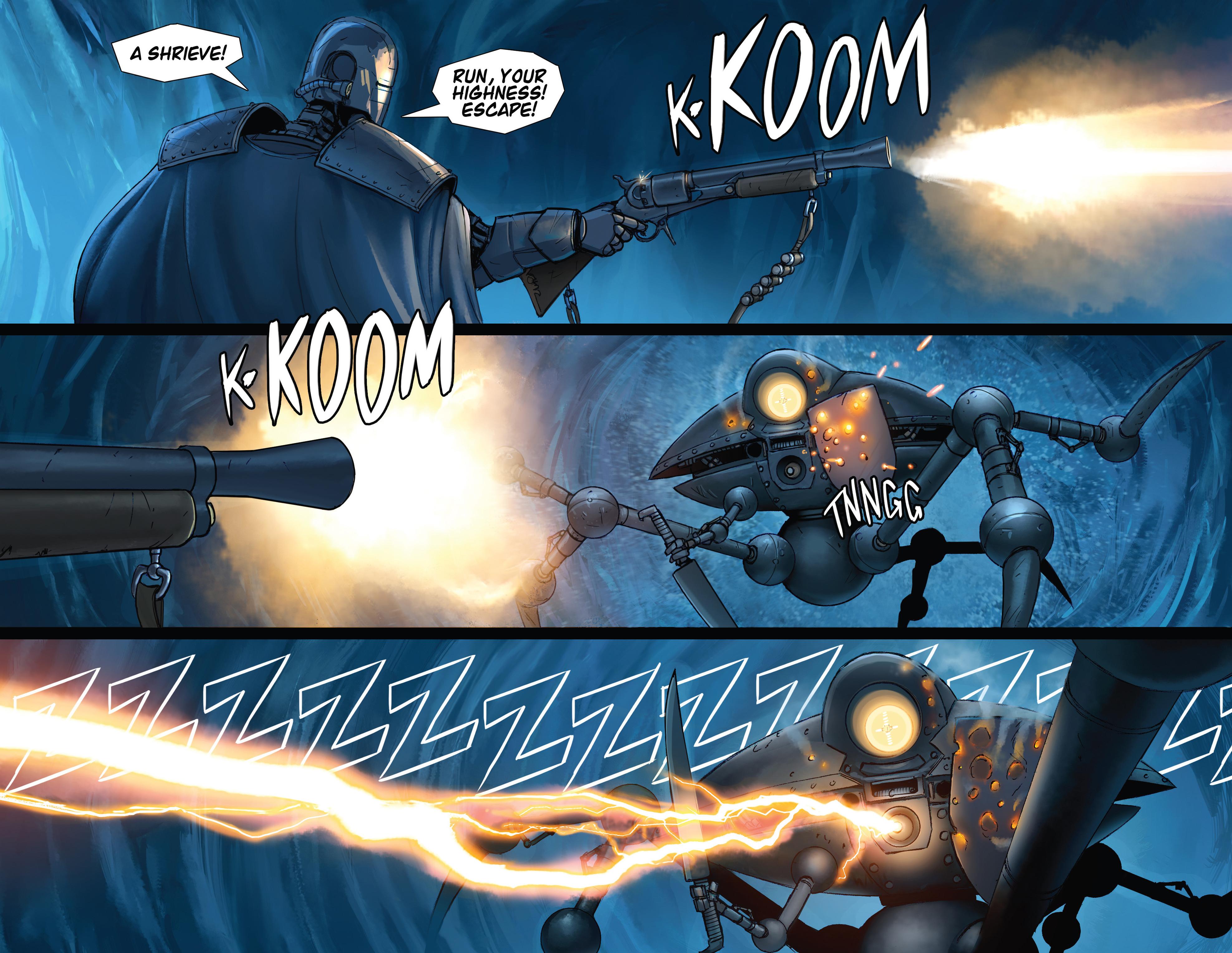 Read online Steam Wars: First Empire comic -  Issue #4 - 12