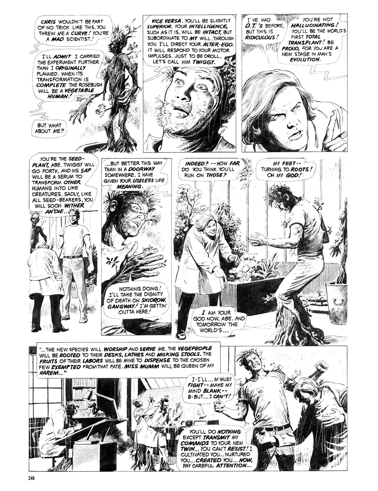 Read online Eerie Archives comic -  Issue # TPB 9 - 247