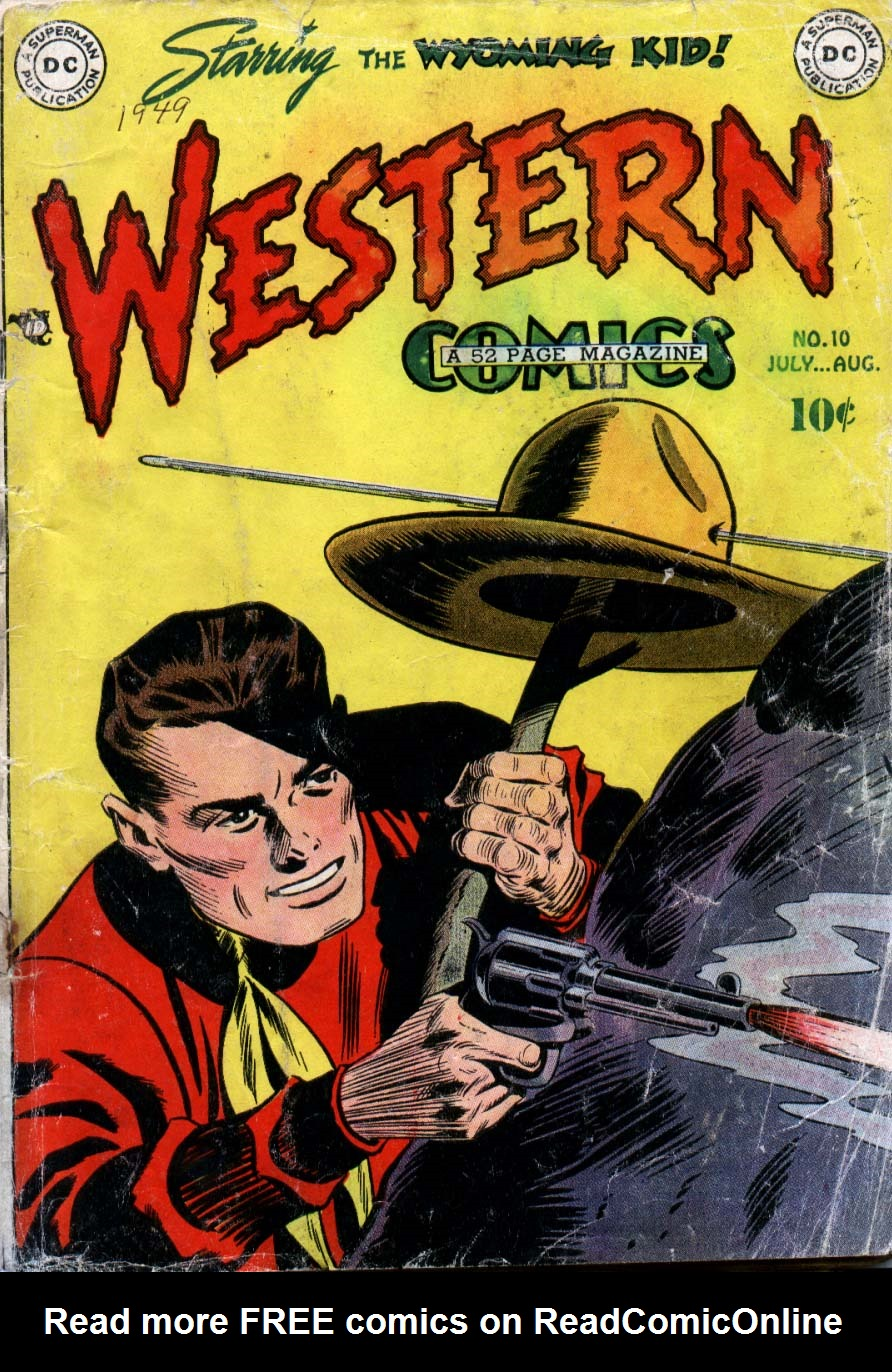 Western Comics 10 Page 1