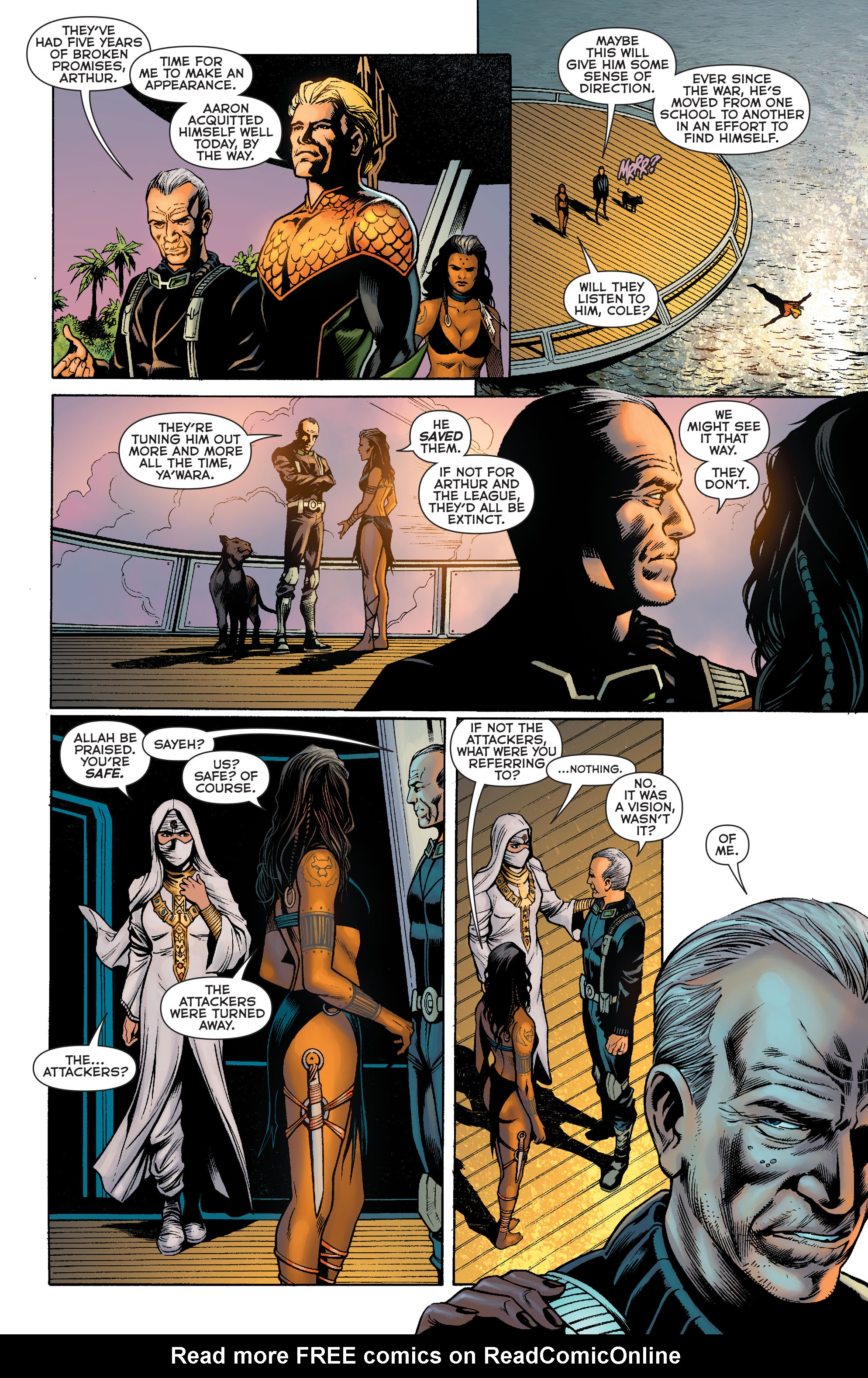 Read online Aquaman: Futures End comic -  Issue #Aquaman: Futures End Full - 12