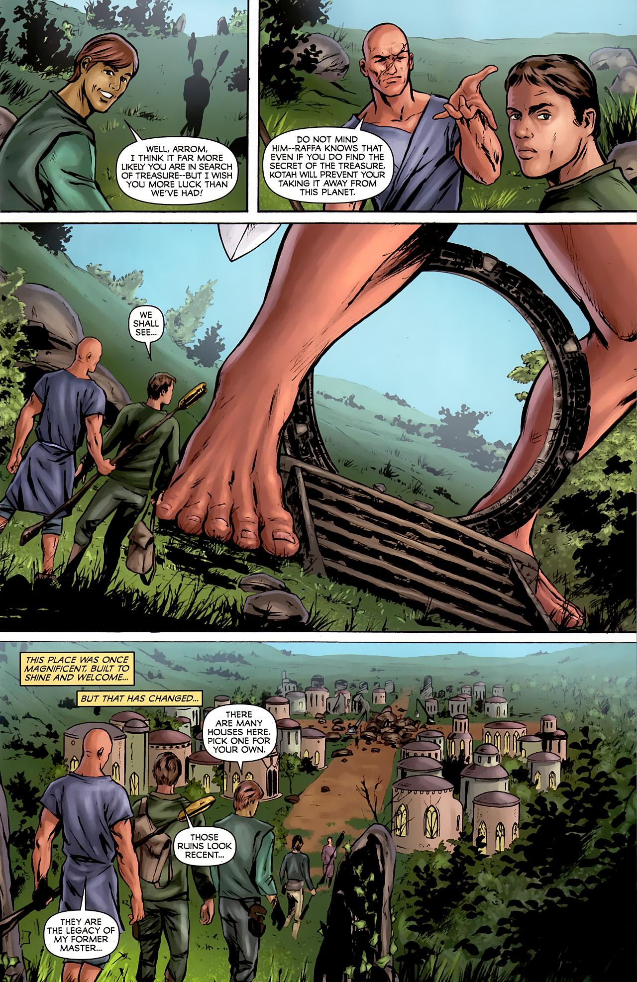 Read online Stargate: Daniel Jackson comic -  Issue #2 - 5