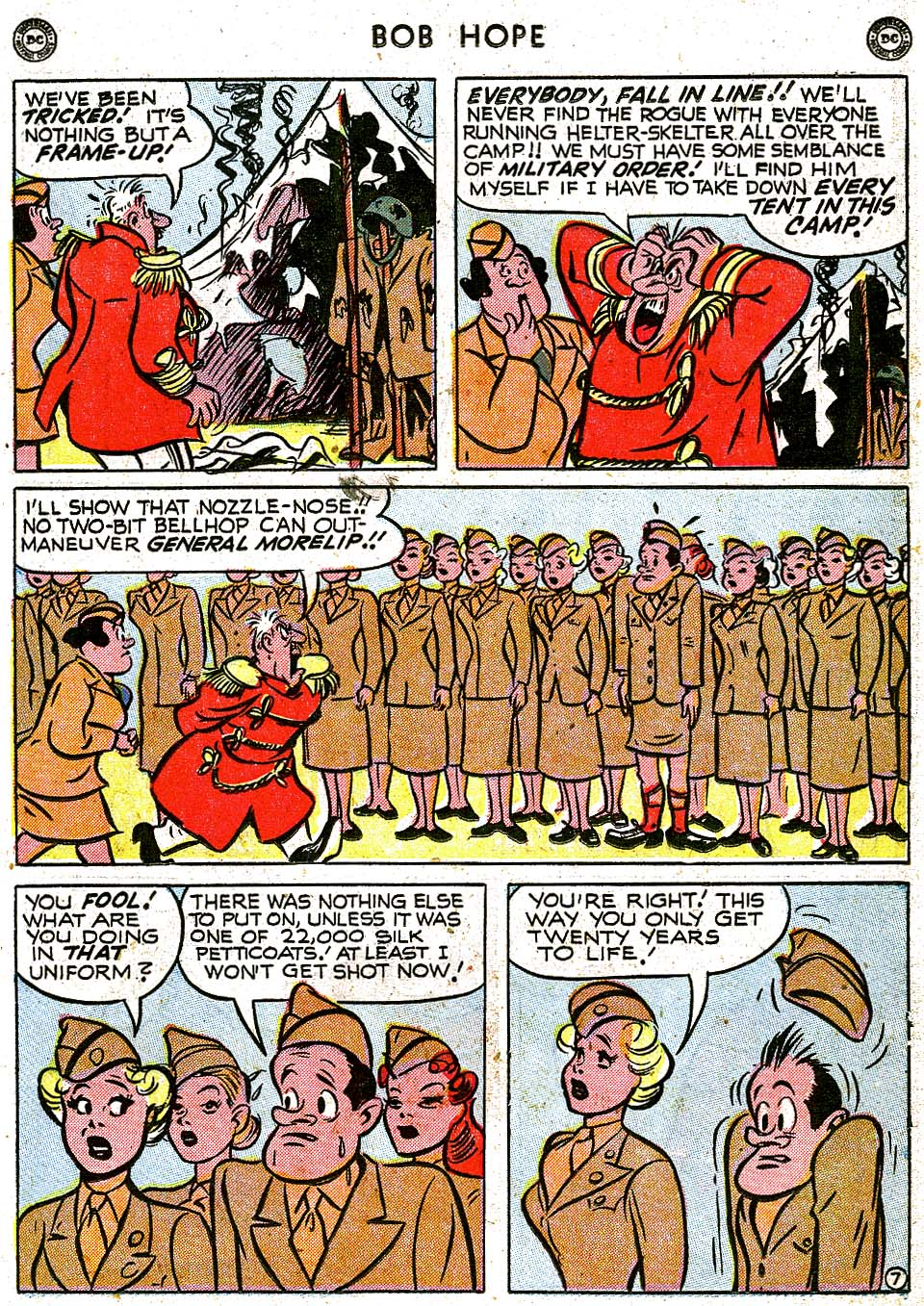 The Adventures of Bob Hope issue 8 - Page 21