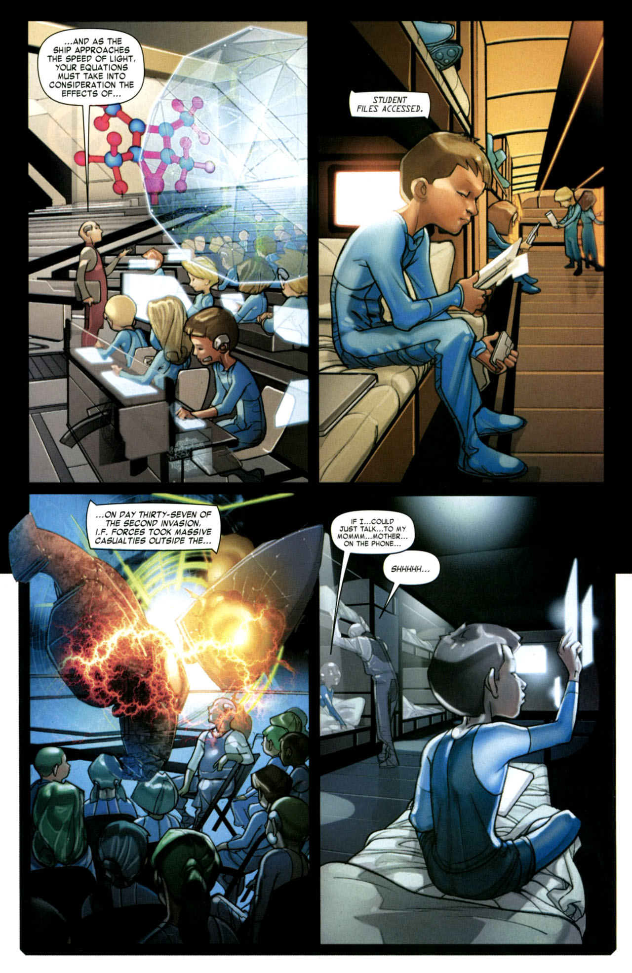 Read online Ender's Game: Battle School comic -  Issue #2 - 15