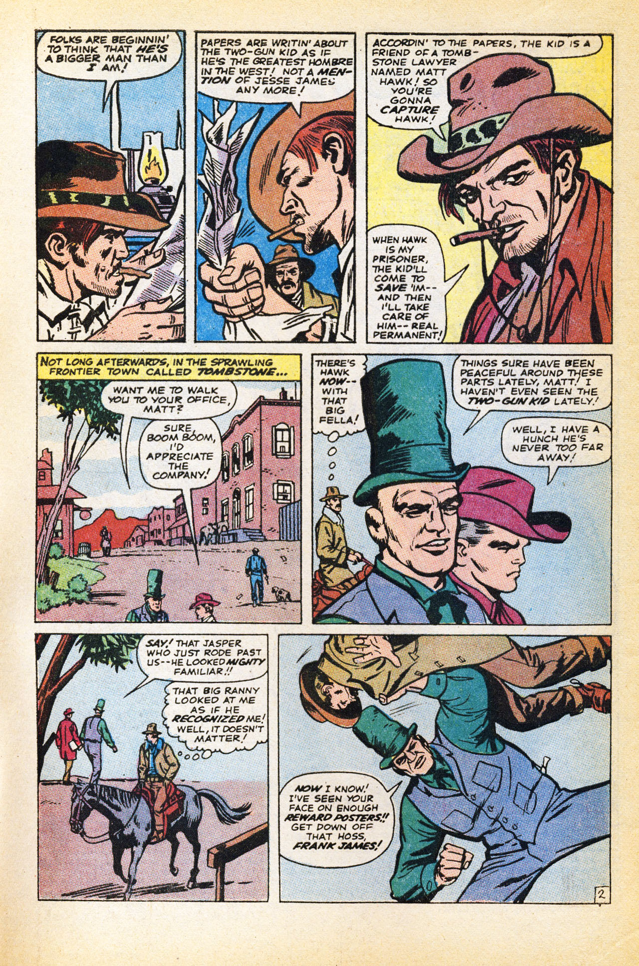 Read online Two-Gun Kid comic -  Issue #94 - 4