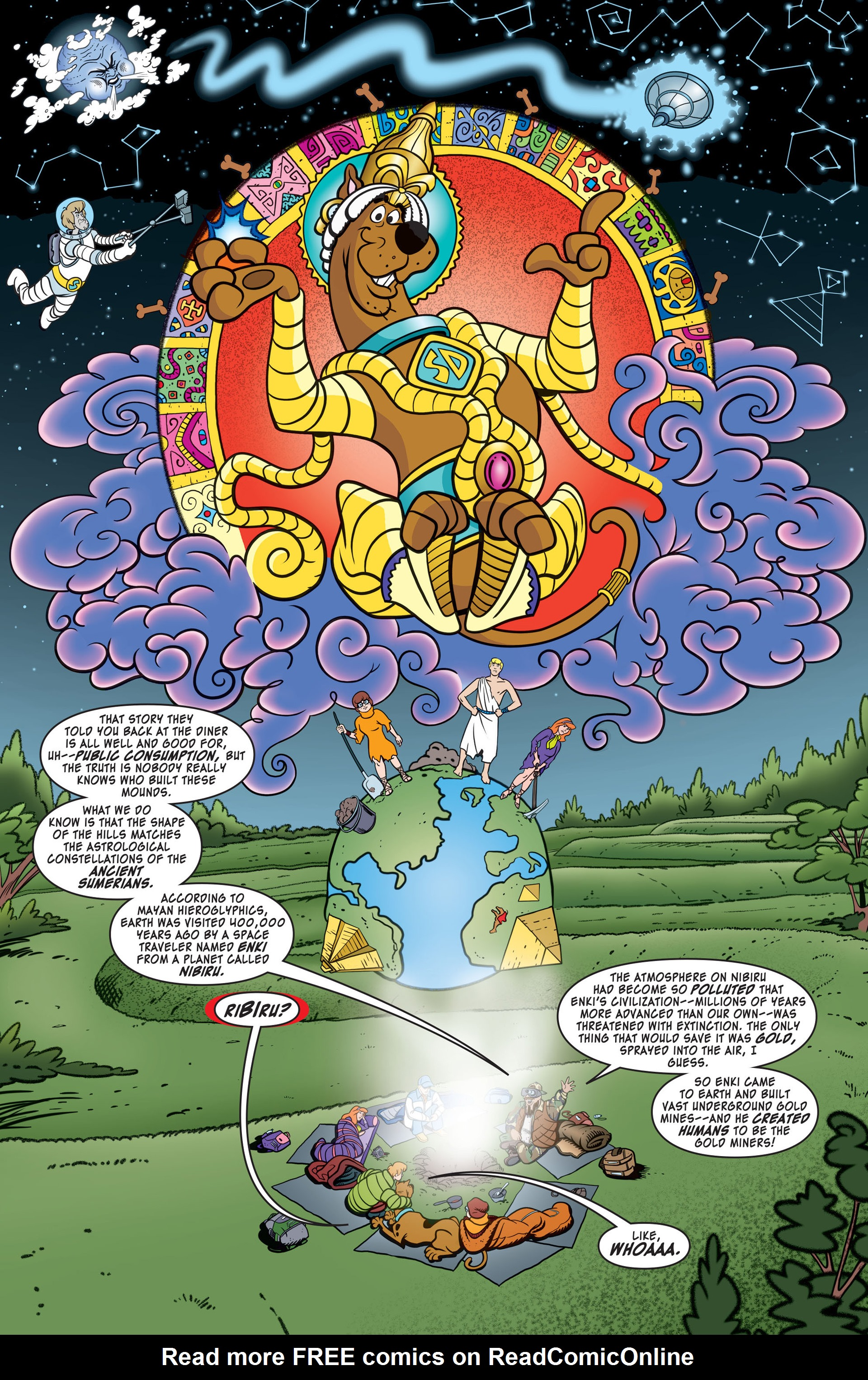 Read online Scooby-Doo: Where Are You? comic -  Issue #41 - 6