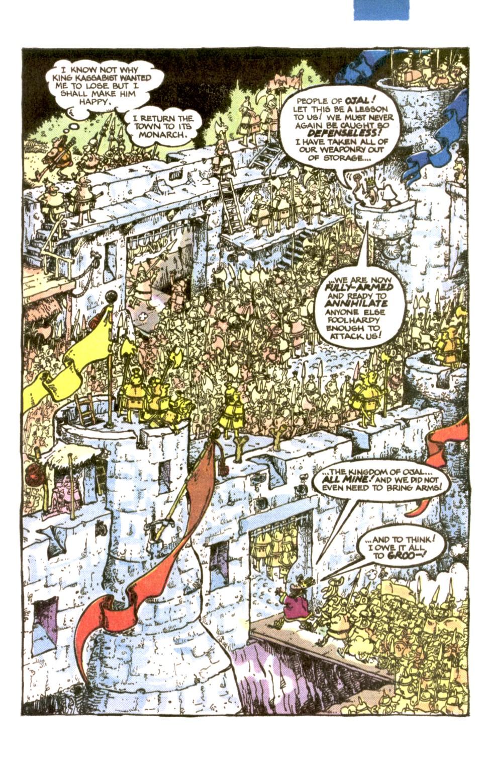 Read online Sergio Aragonés Groo the Wanderer comic -  Issue #1 - 20