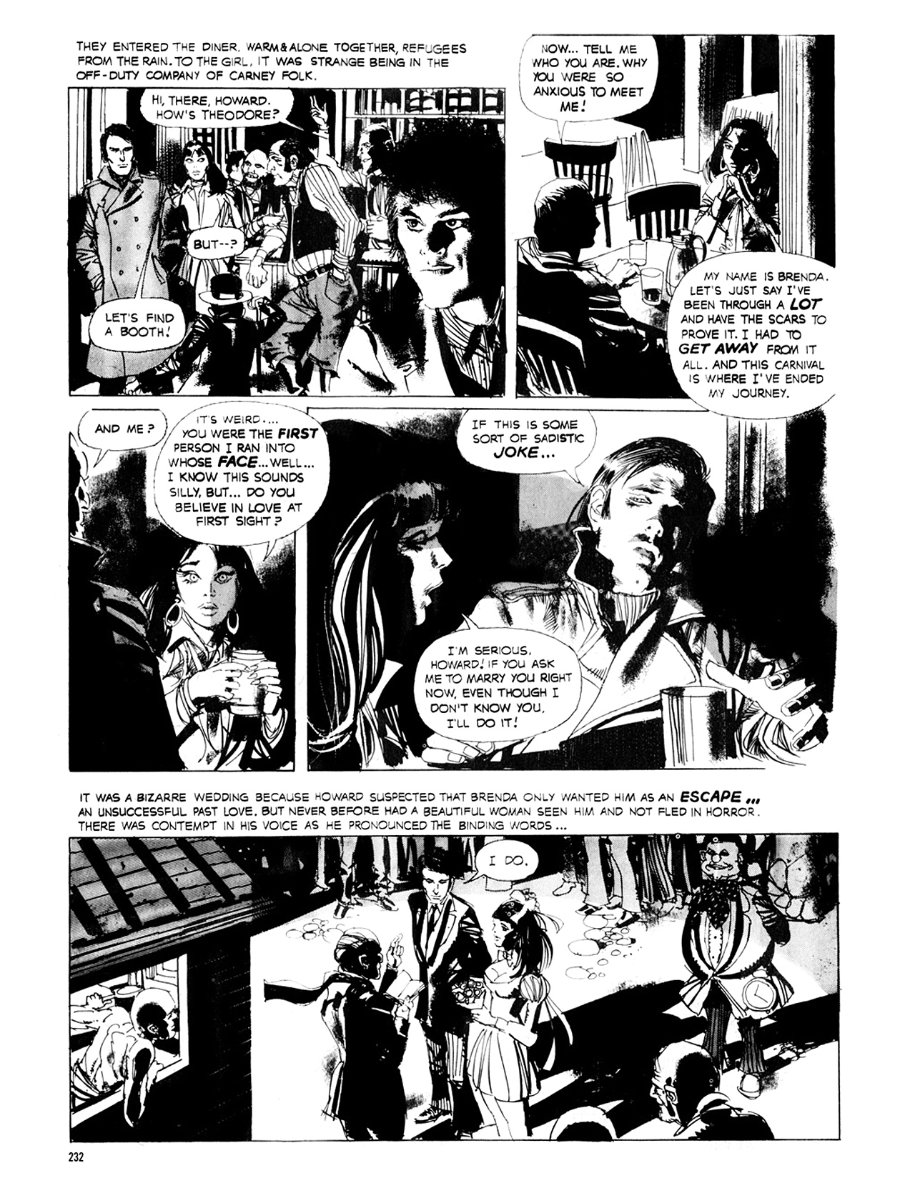 Read online Eerie Archives comic -  Issue # TPB 8 - 233
