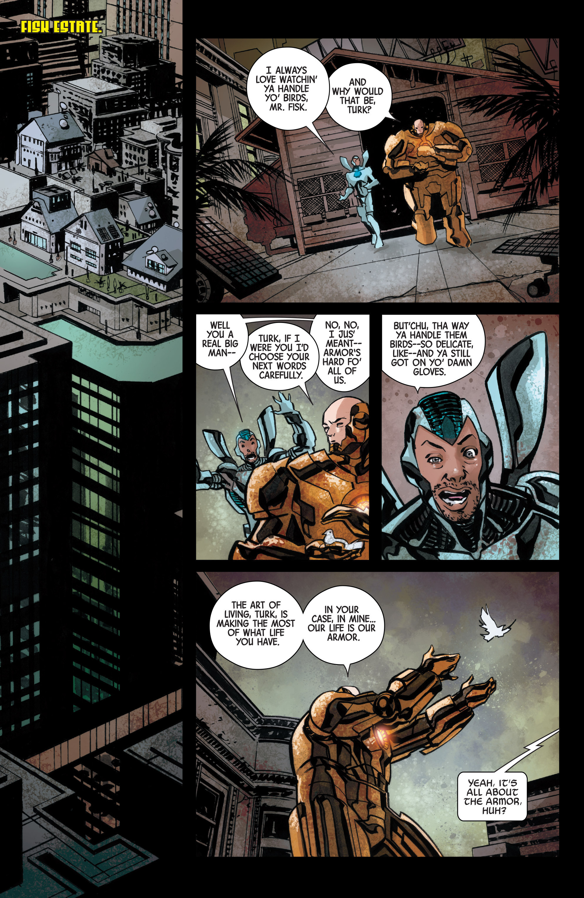 Read online Armor Wars comic -  Issue #3 - 19