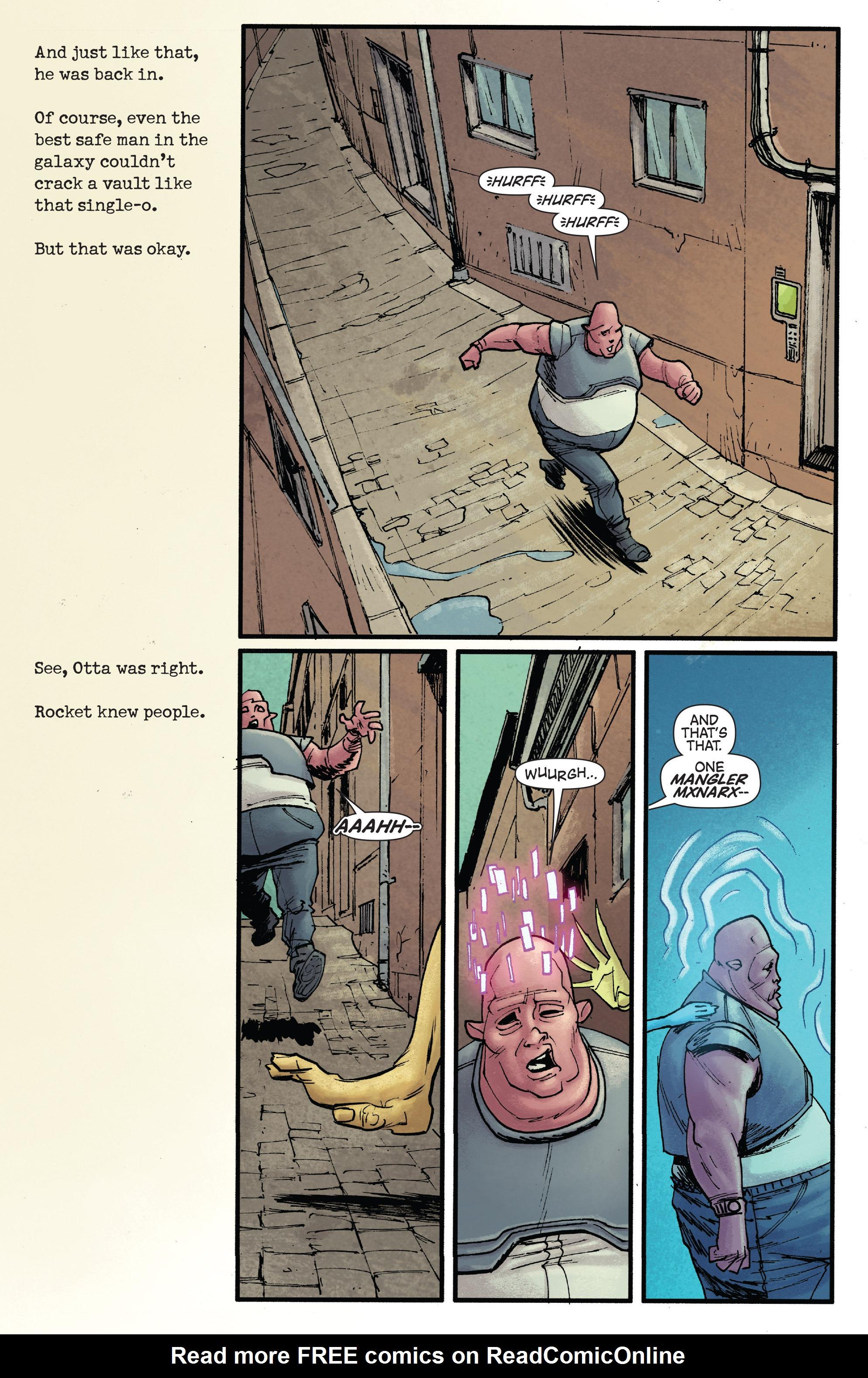 Read online Rocket comic -  Issue #1 - 12