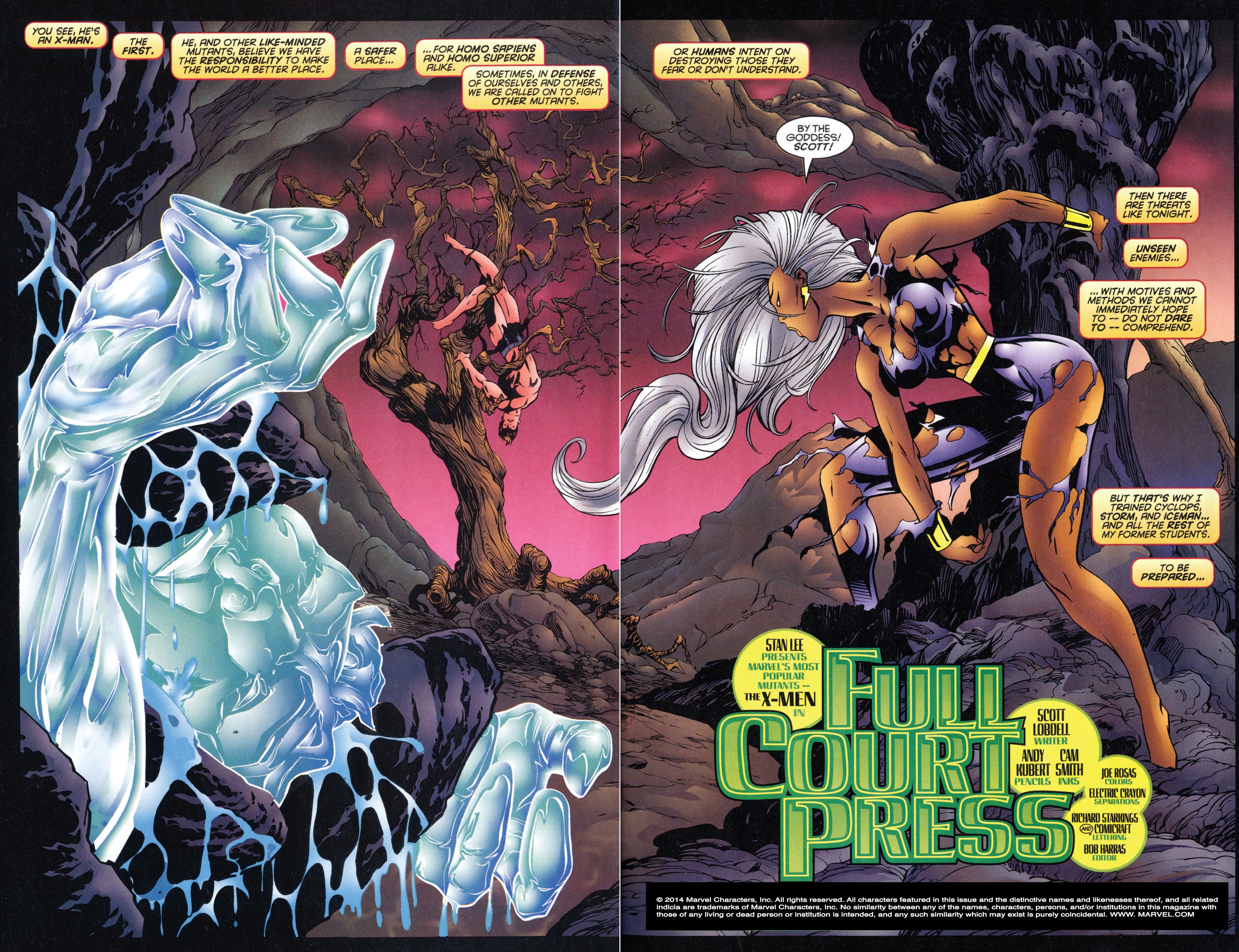 X-Men (1991) 50 Page 3