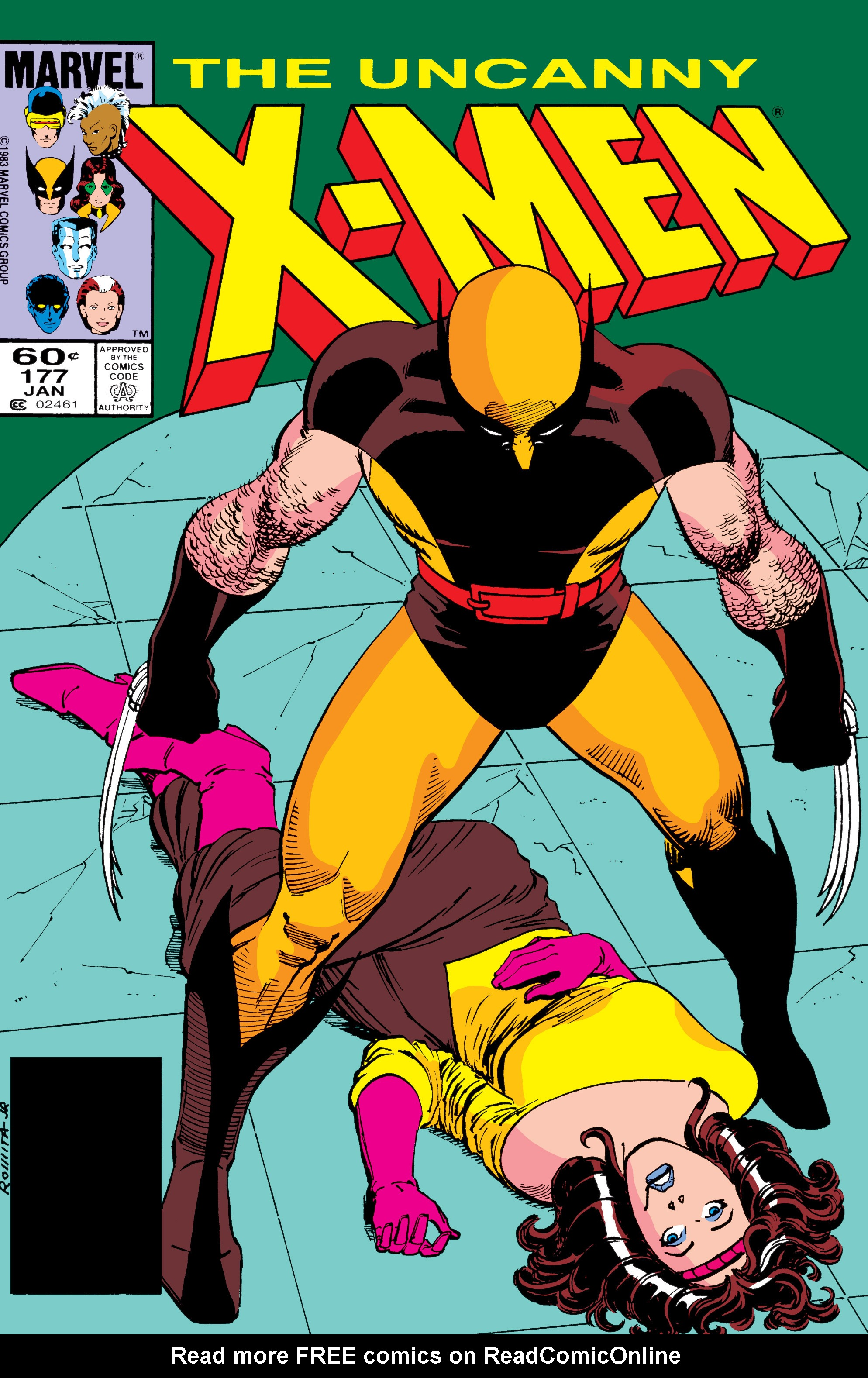 Read online Uncanny X-Men (1963) comic -  Issue #177 - 1
