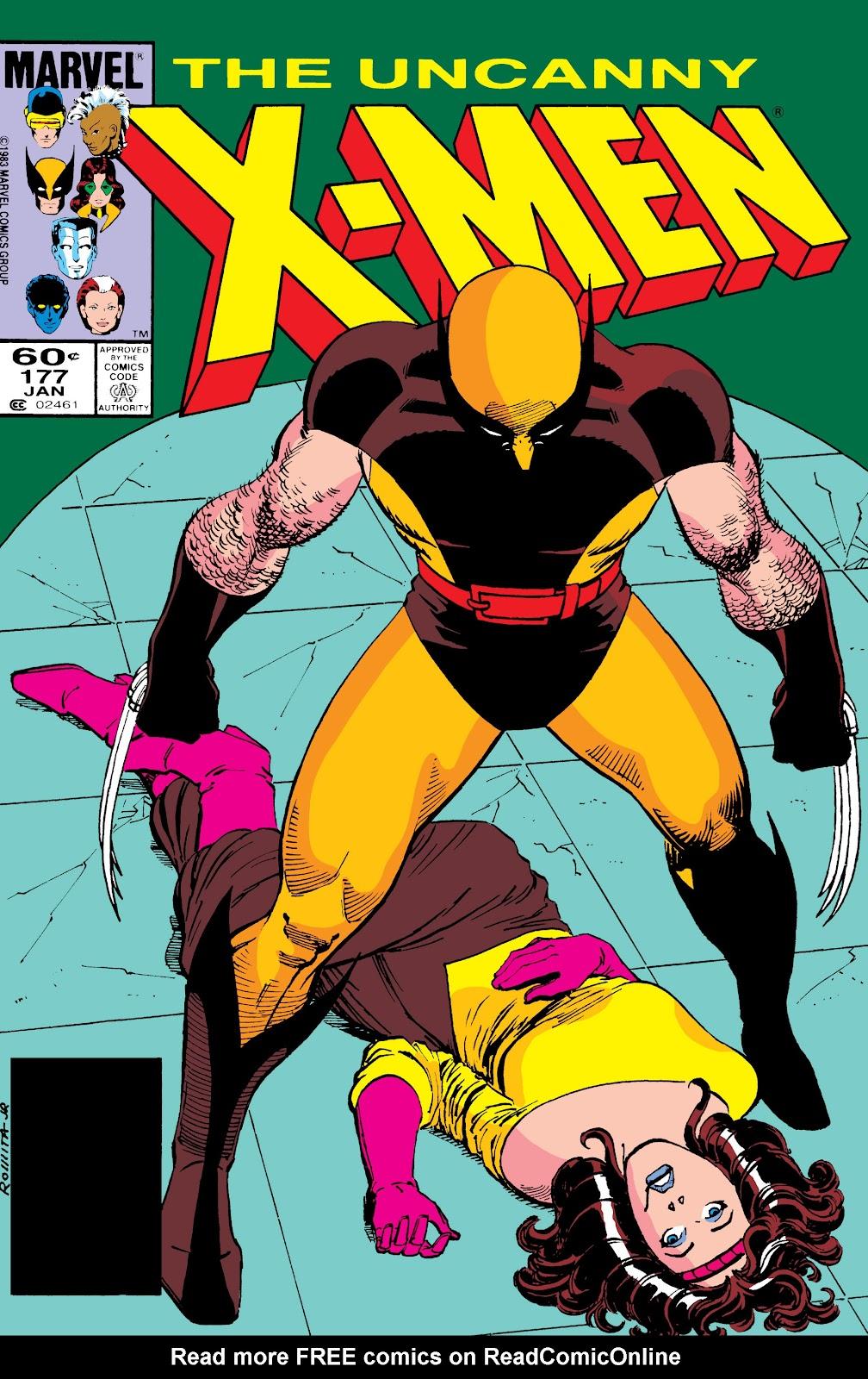Uncanny X-Men (1963) issue 177 - Page 1