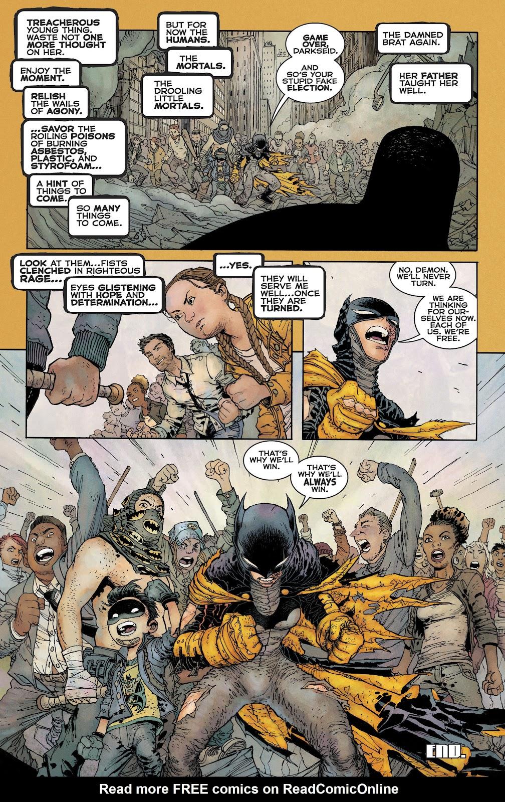 Dark Knight Returns: The Golden Child issue Full - Page 50