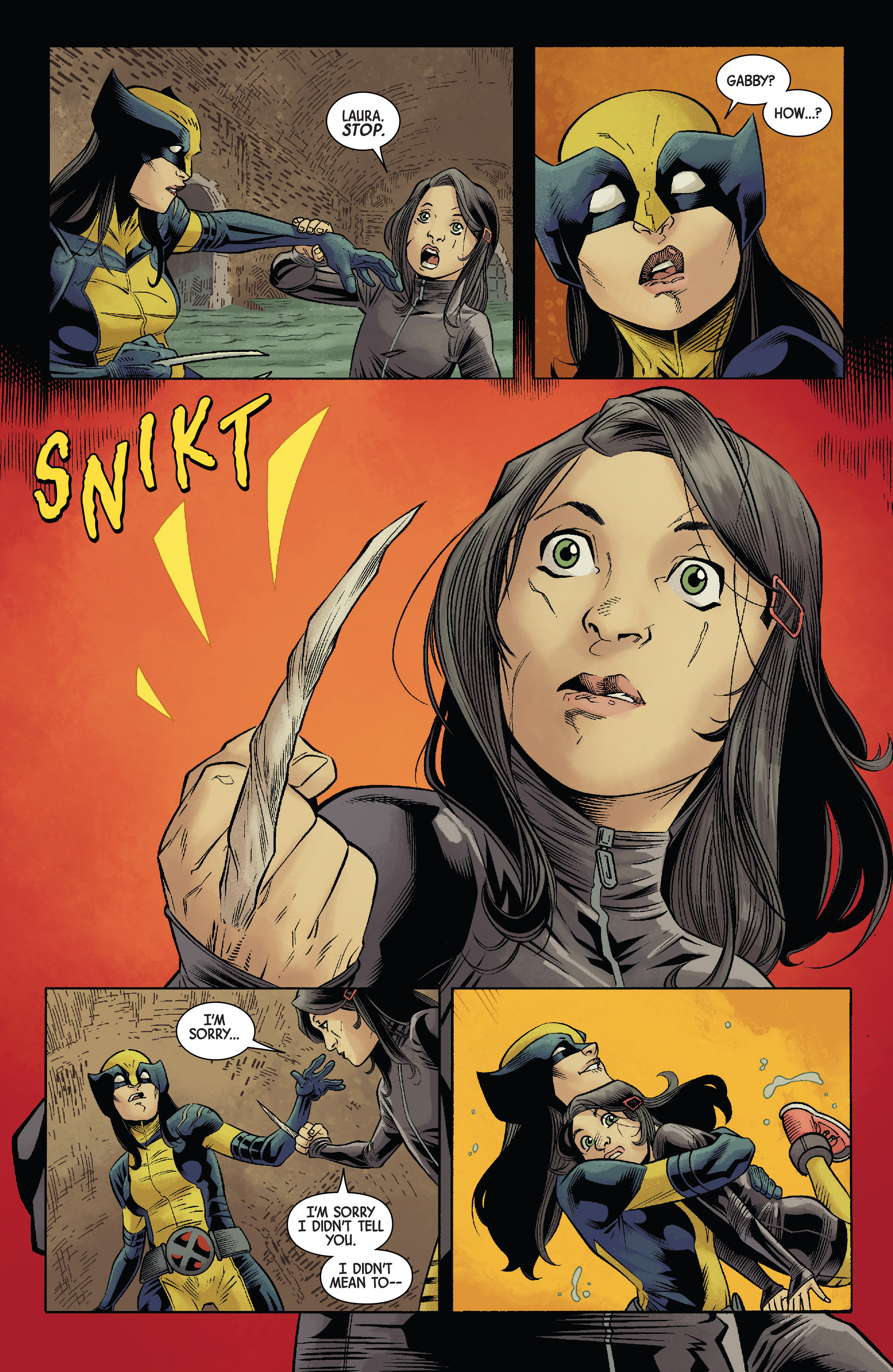 Read online All-New Wolverine (2016) comic -  Issue #12 - 17
