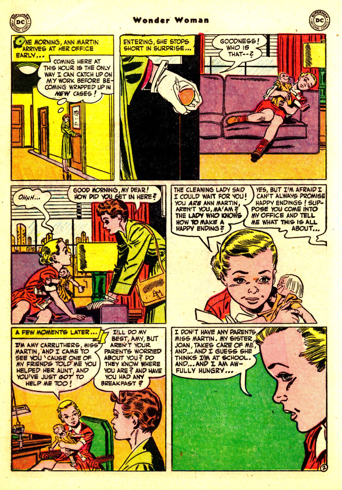 Read online Wonder Woman (1942) comic -  Issue #50 - 18