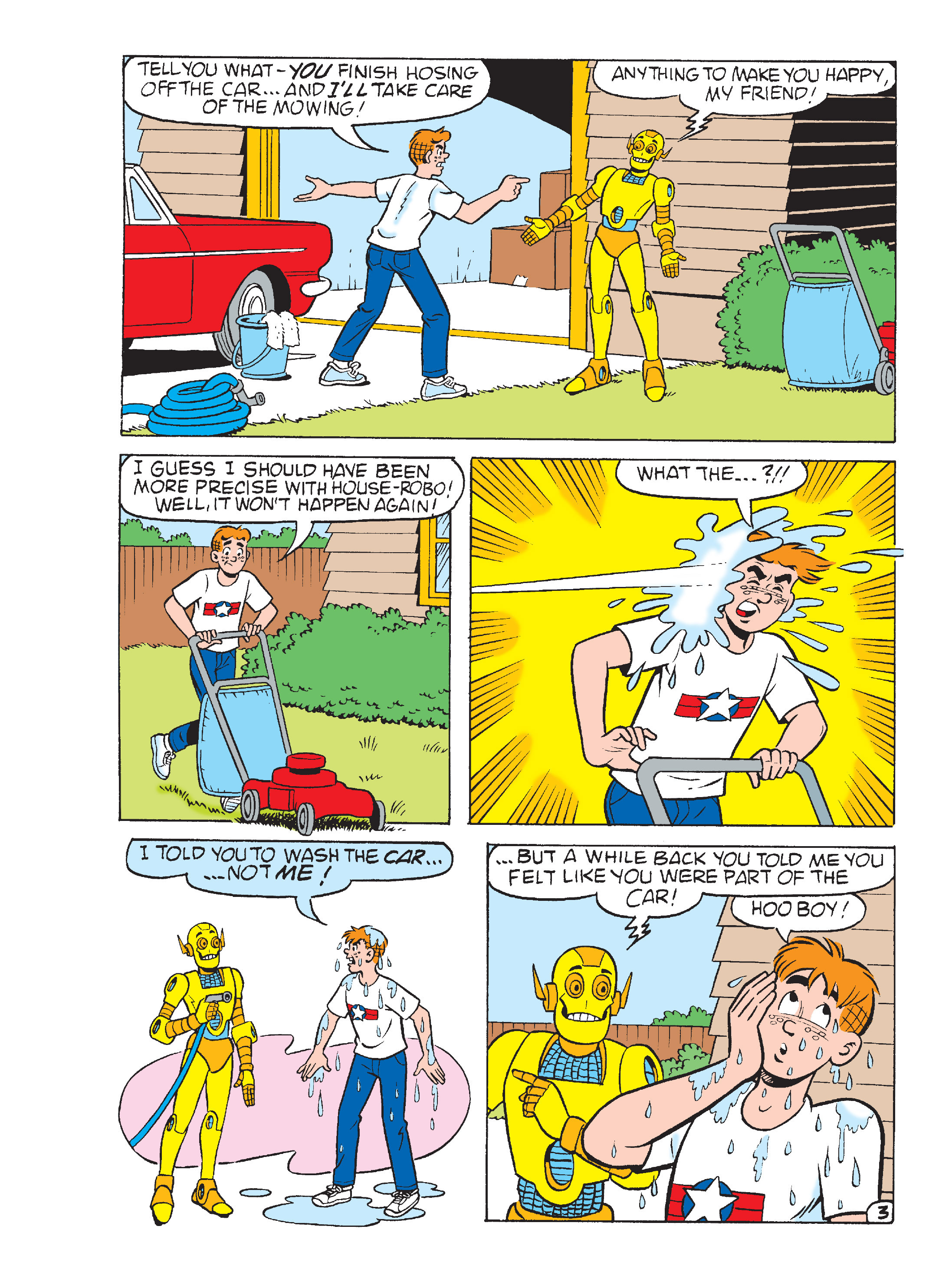 Read online Archie's Funhouse Double Digest comic -  Issue #15 - 269