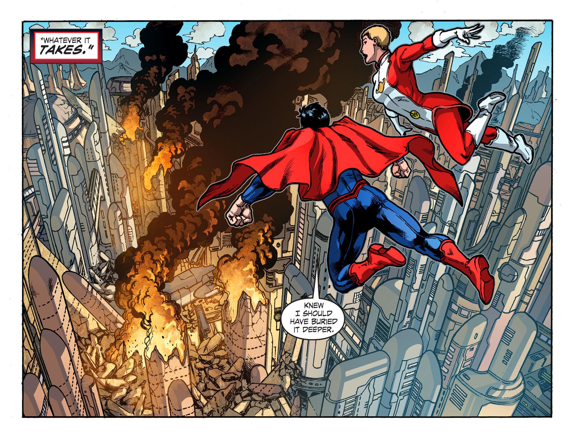 Read online Smallville: Season 11 comic -  Issue #52 - 9