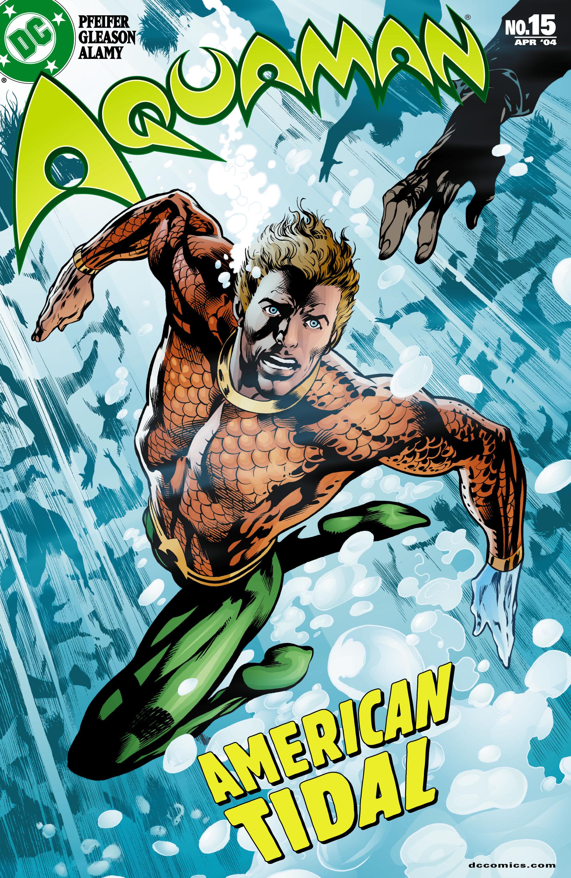 Read online Aquaman (2003) comic -  Issue #15 - 1