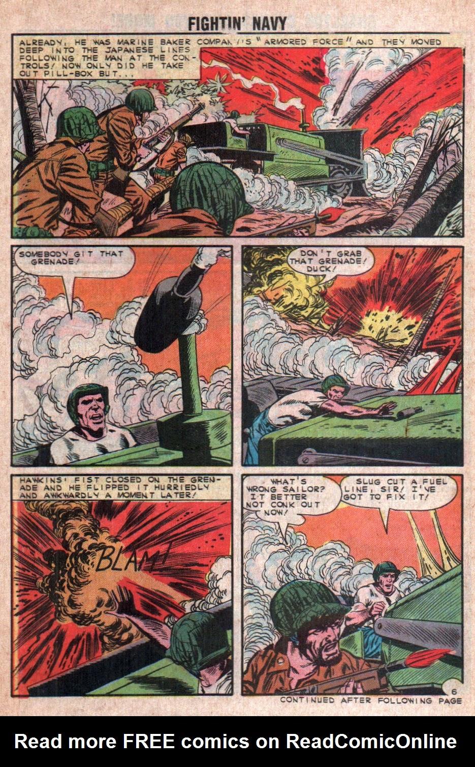Read online Fightin' Navy comic -  Issue #108 - 30