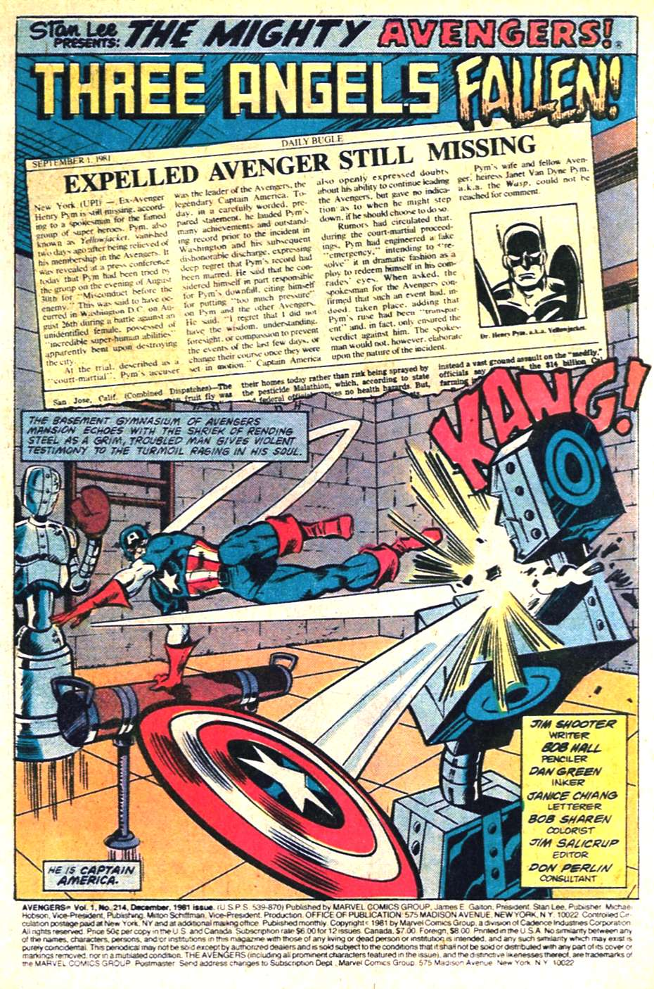 The Avengers (1963) 214 Page 1