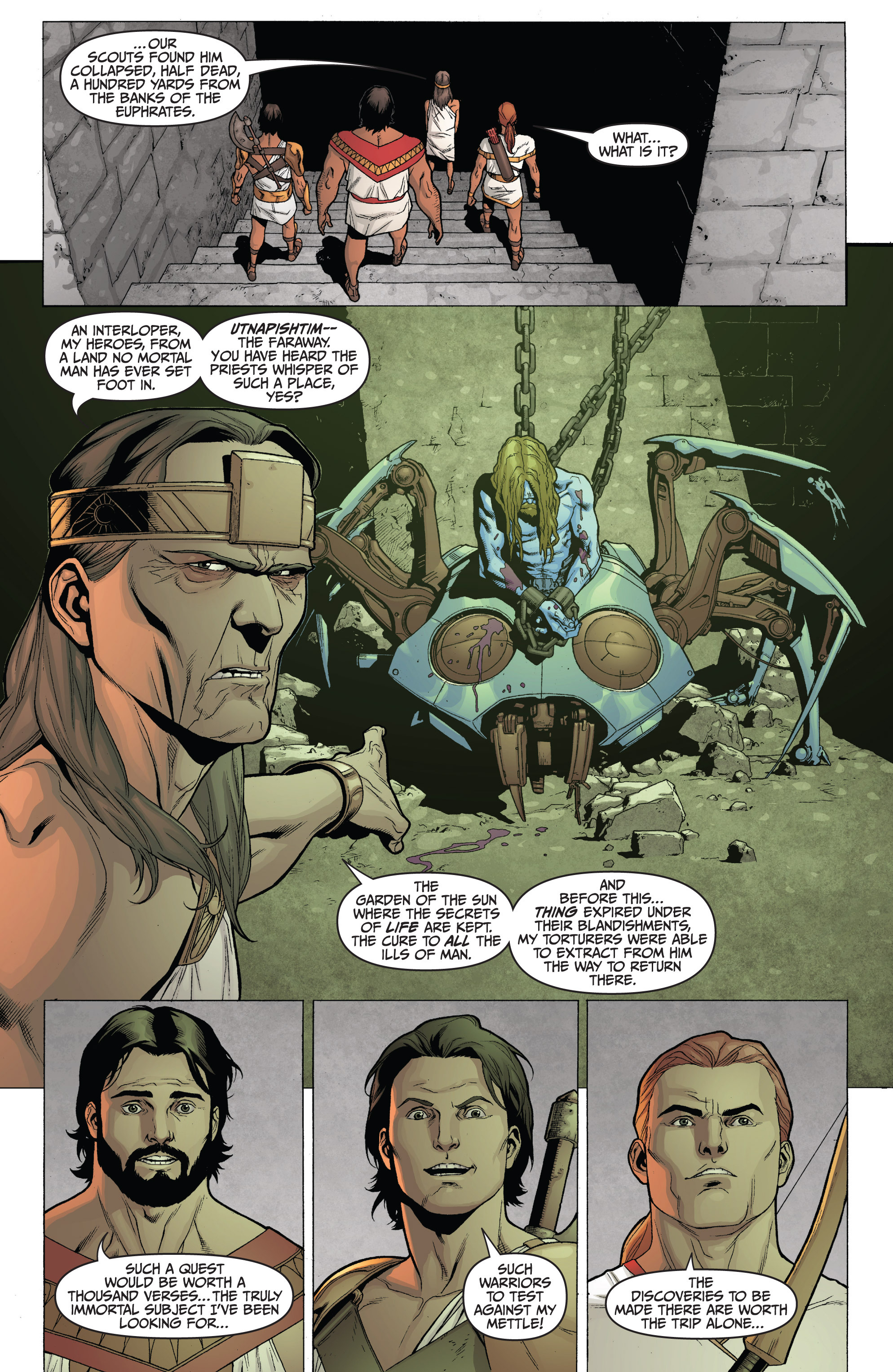 Read online Archer and Armstrong comic -  Issue #0 - 6