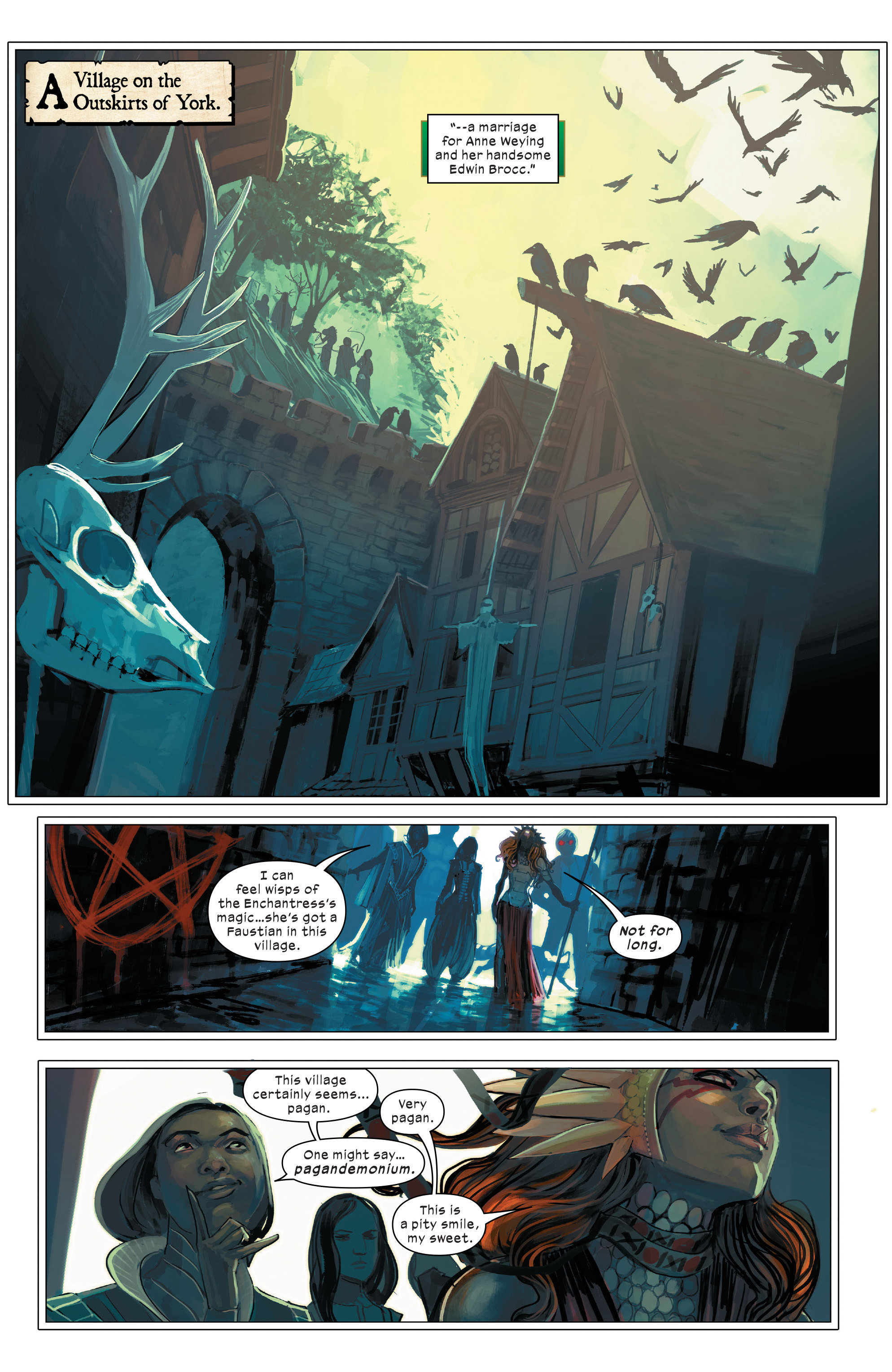 Read online 1602 Witch Hunter Angela comic -  Issue #2 - 8
