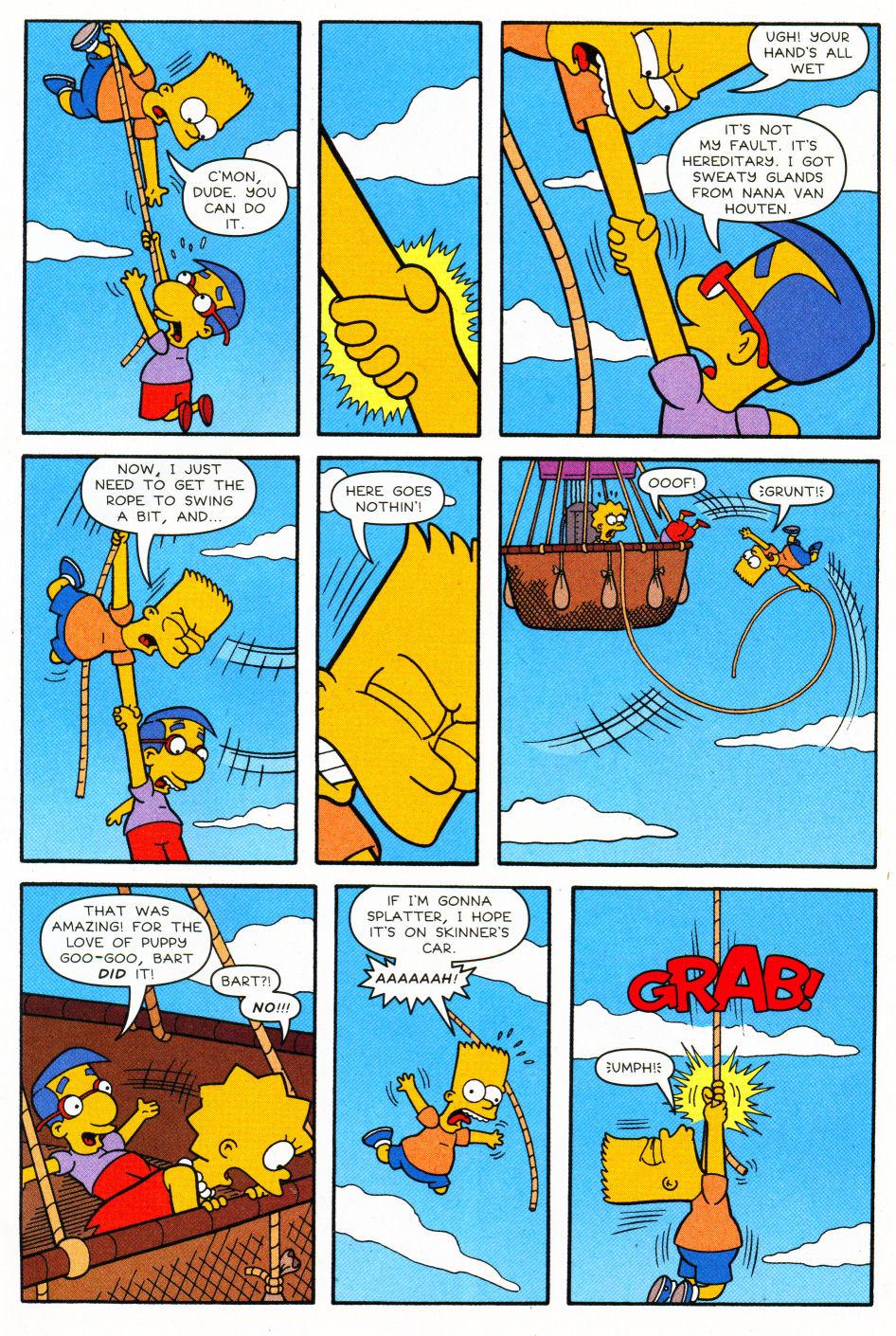 Read online Simpsons Comics Presents Bart Simpson comic -  Issue #27 - 8