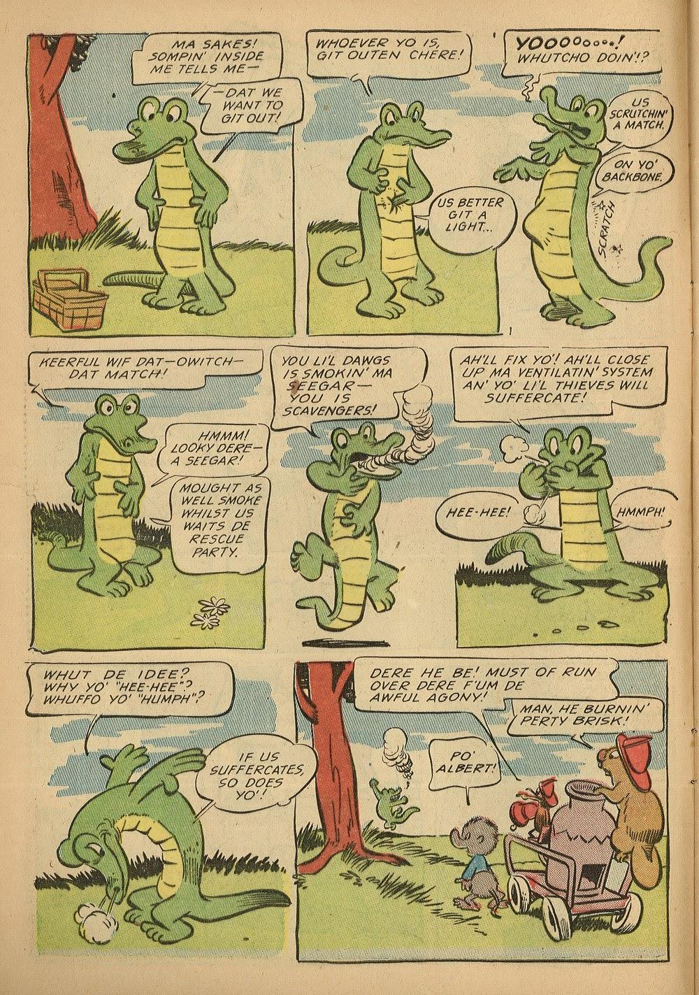 Read online Animal Comics comic -  Issue #24 - 10