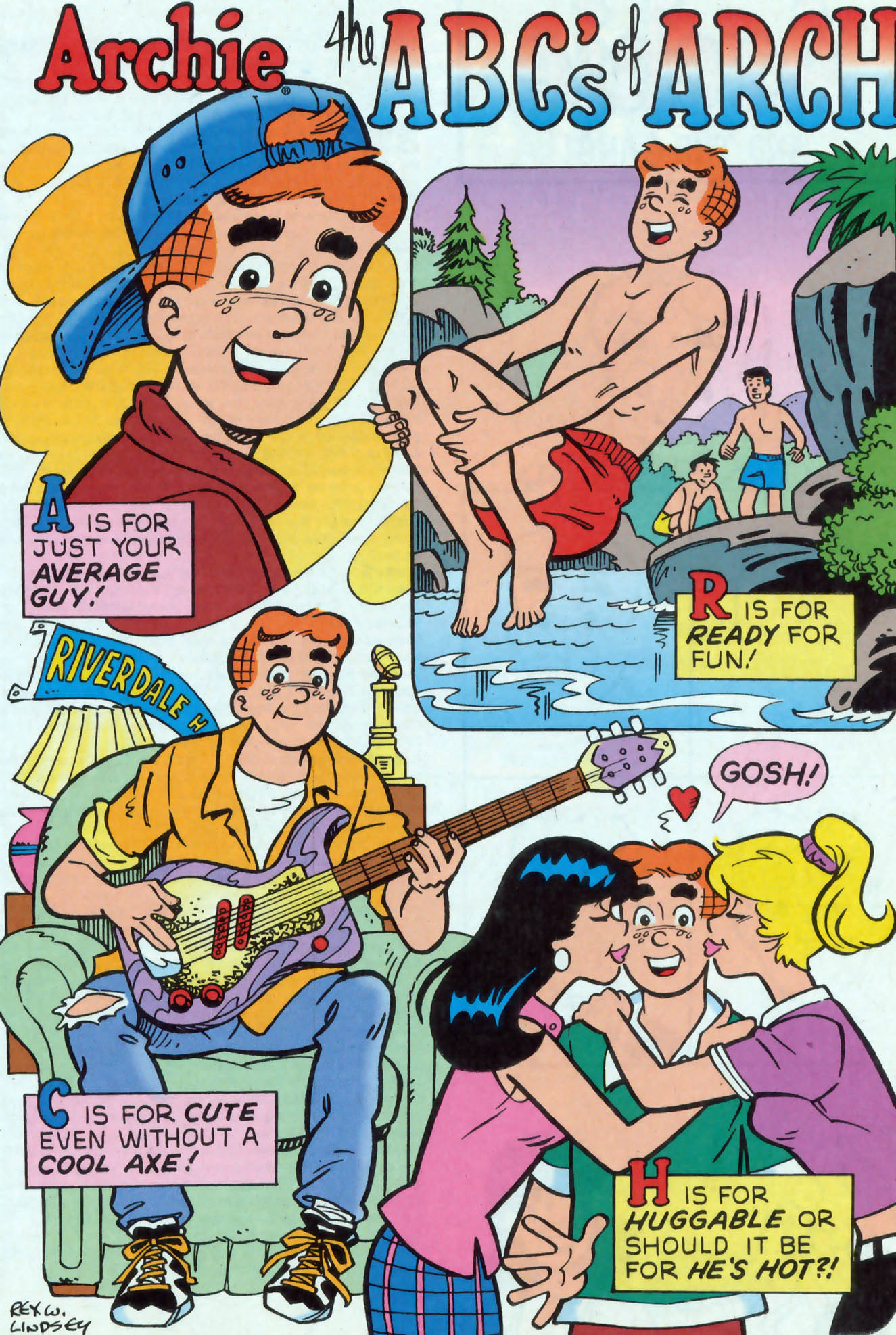 Read online Archie (1960) comic -  Issue #476 - 13