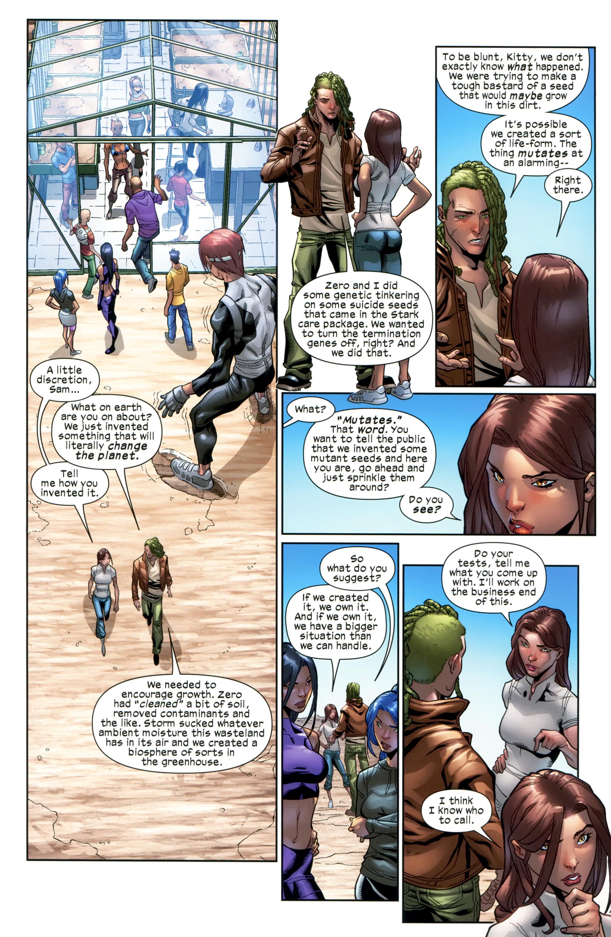 Read online Ultimate Comics X-Men comic -  Issue #20 - 13