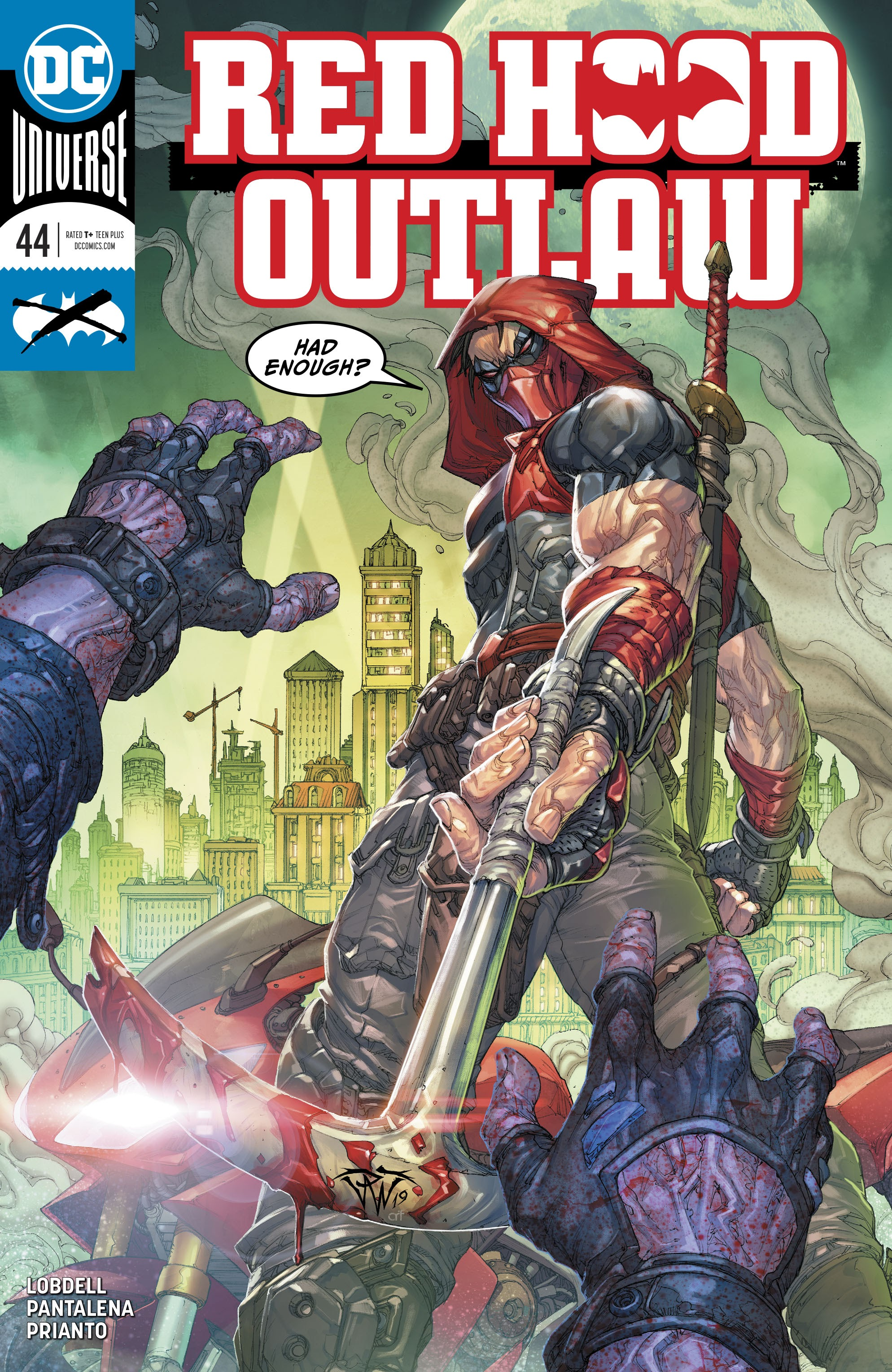 Red Hood and the Outlaws (2016) 44 Page 1