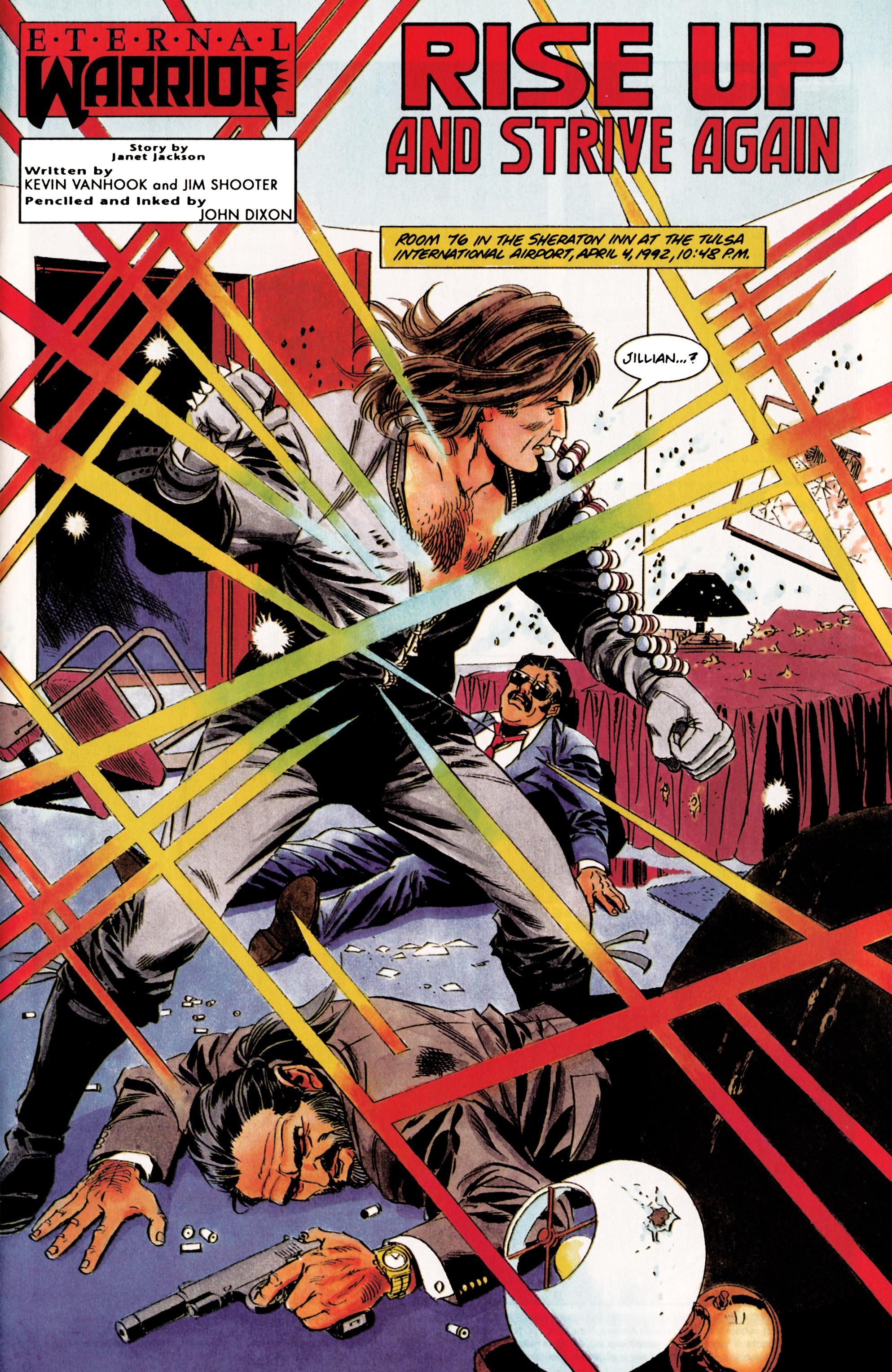 Read online Eternal Warrior (1992) comic -  Issue #3 - 2