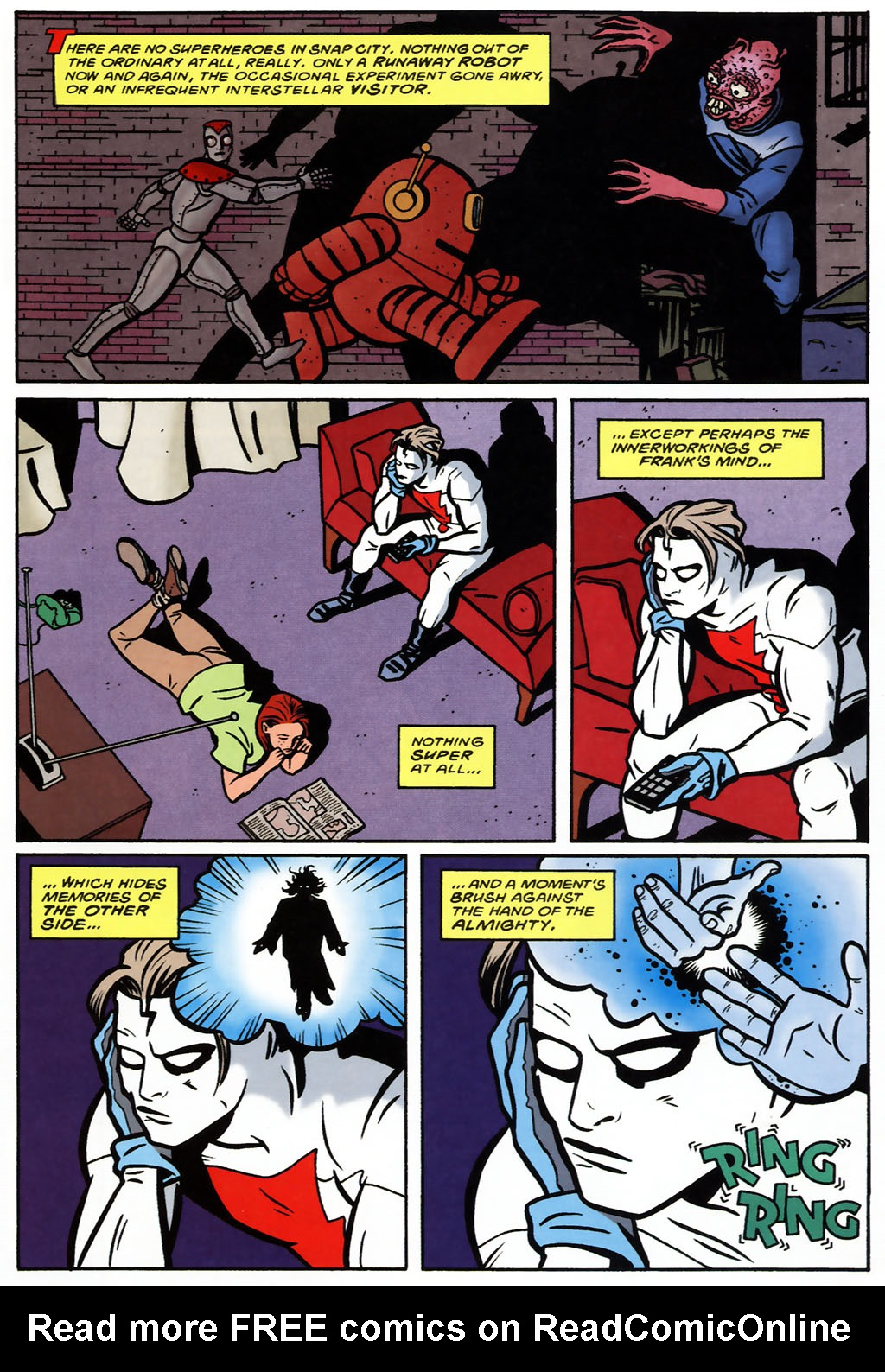 Read Online The Superman Madman Hullabaloo Comic Issue 1