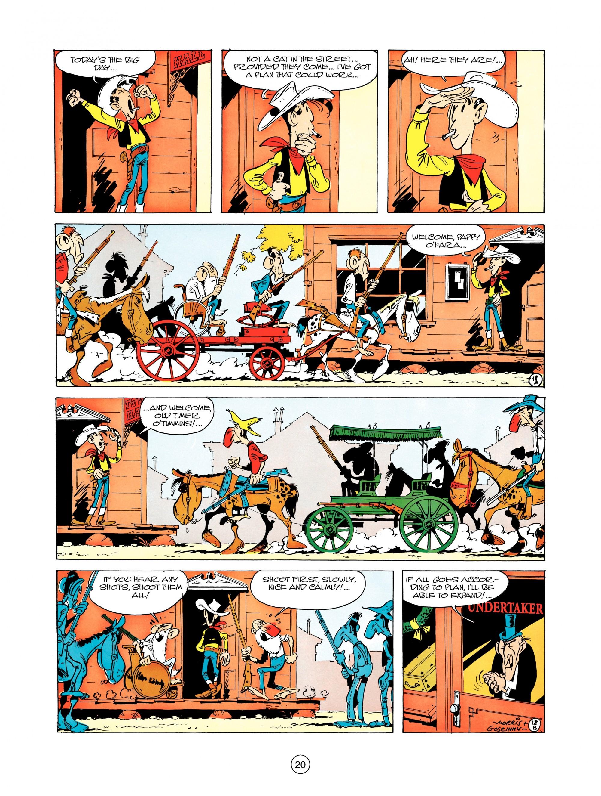 Read online A Lucky Luke Adventure comic -  Issue #12 - 20