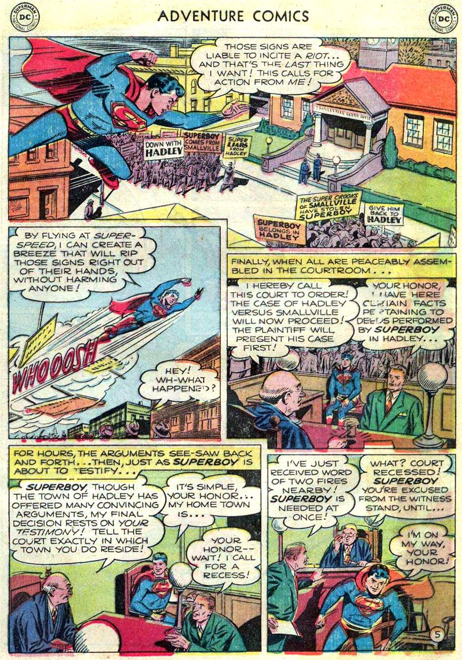 Read online Adventure Comics (1938) comic -  Issue #166 - 6