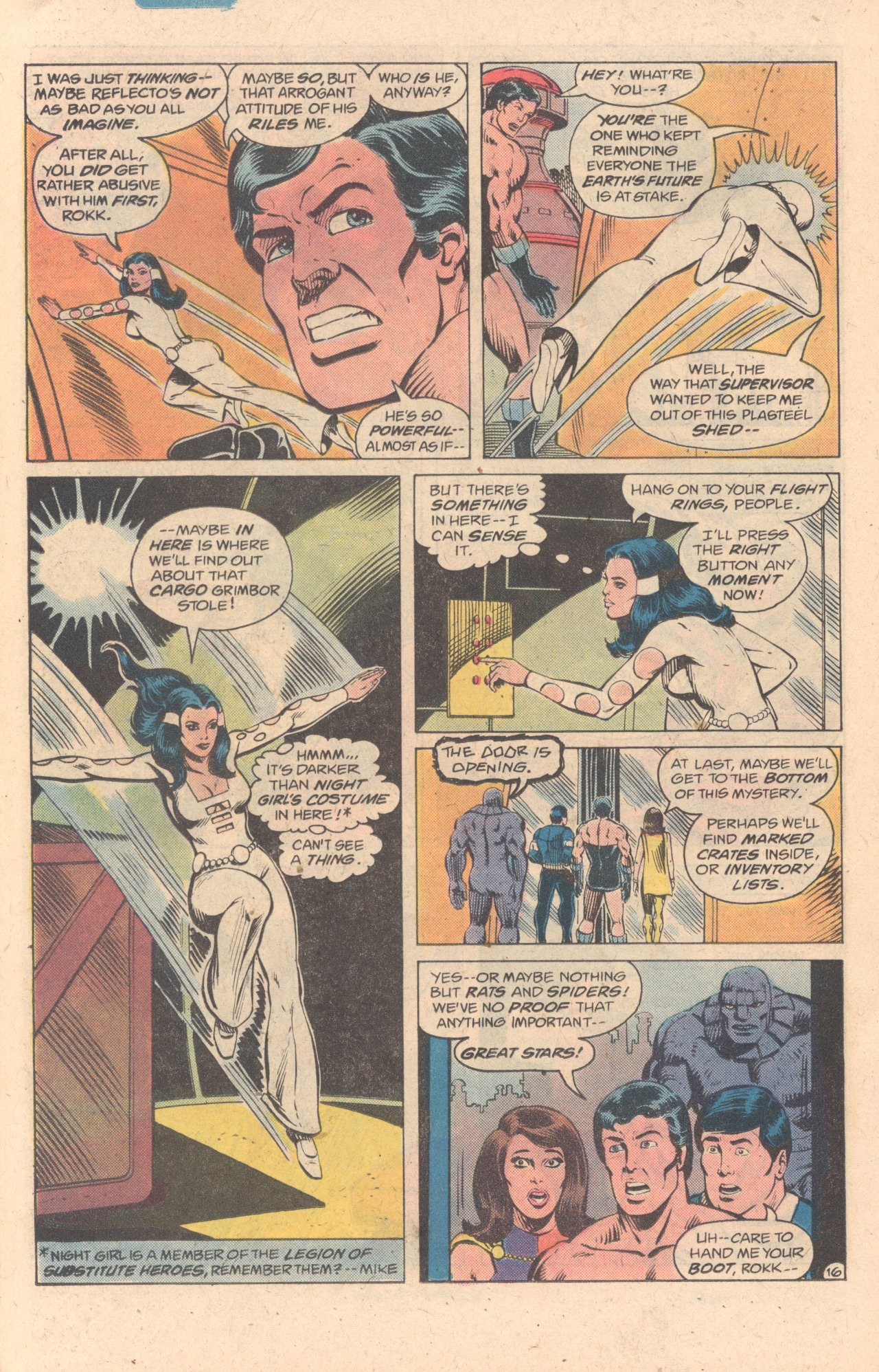 Legion of Super-Heroes (1980) 278 Page 16