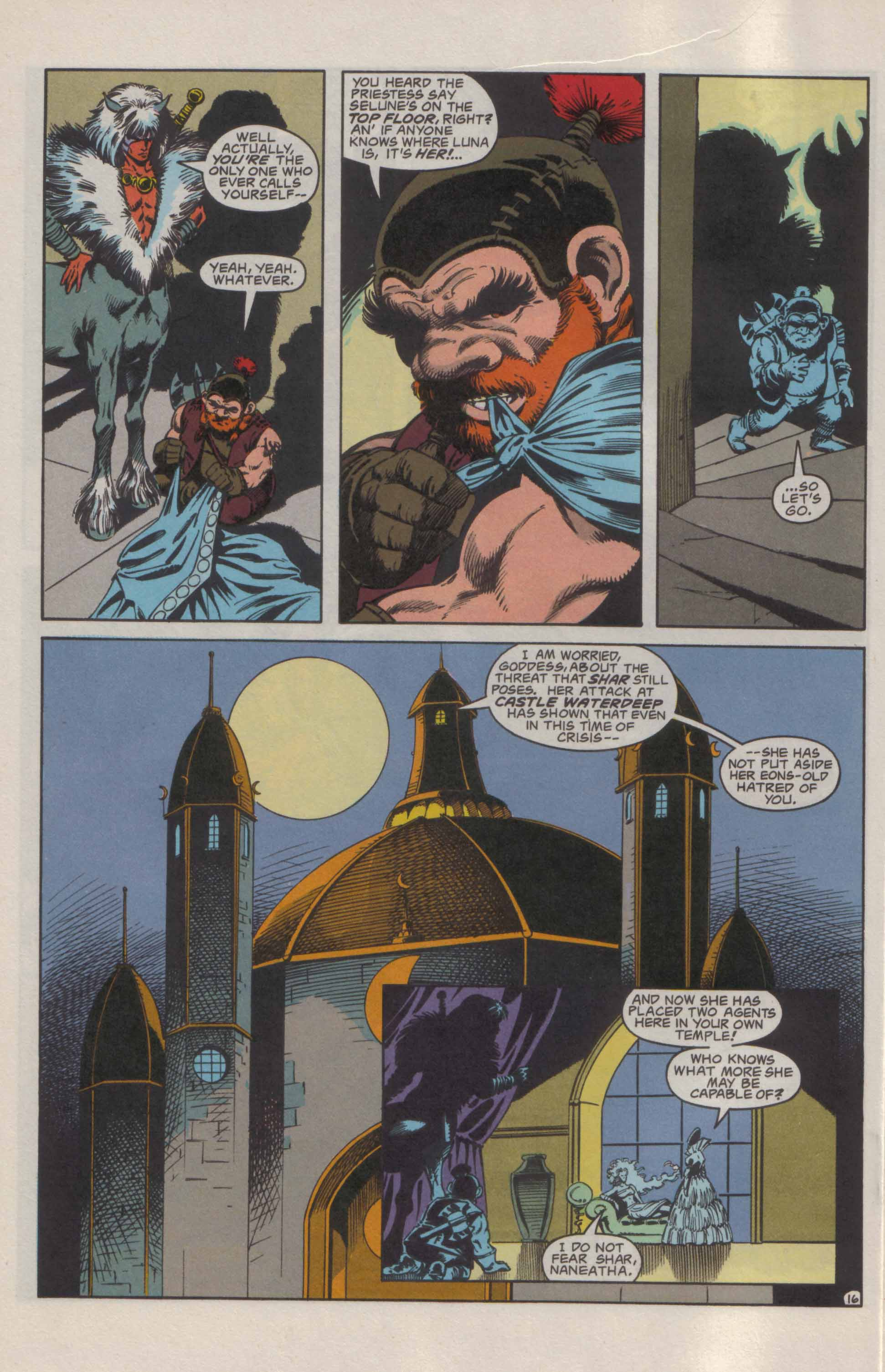 Read online Advanced Dungeons & Dragons comic -  Issue #21 - 17