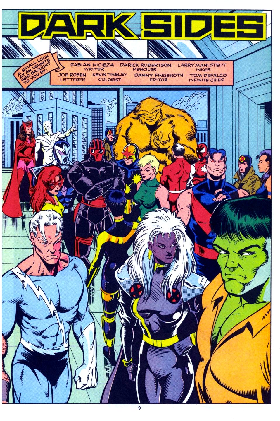 The New Warriors Issue #27 #31 - English 8