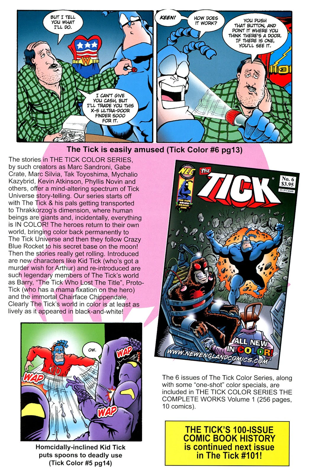 Read online The Tick comic -  Issue #100 - 45