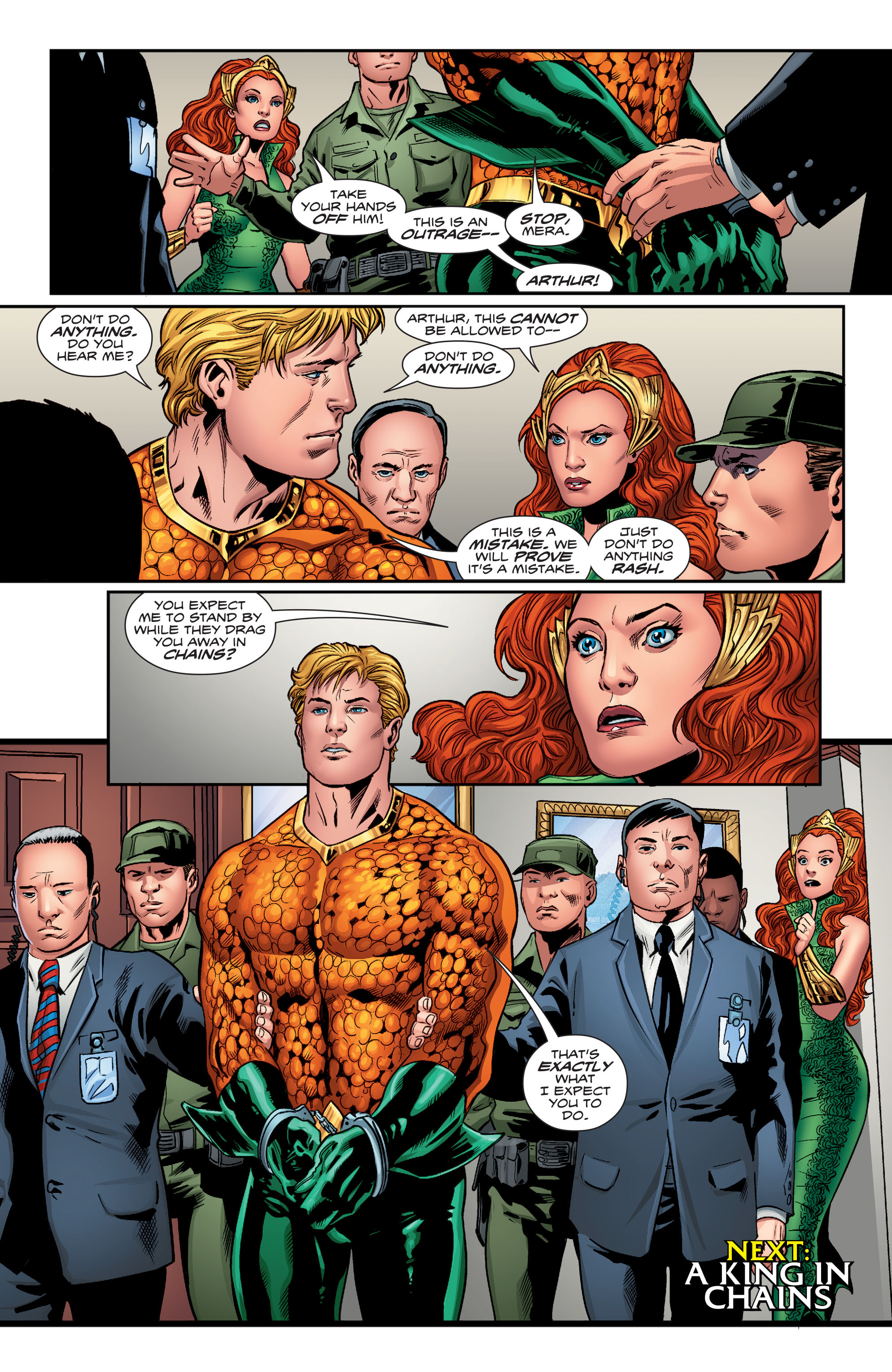 Read online Aquaman (2016) comic -  Issue #3 - 23