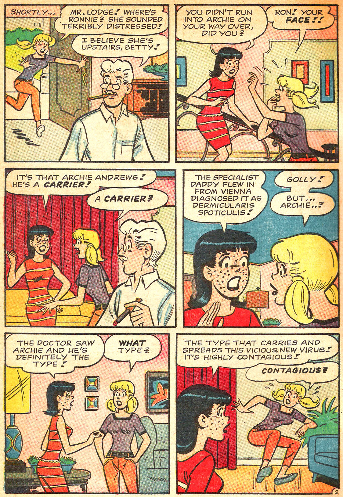 Read online Archie's Girls Betty and Veronica comic -  Issue #133 - 4