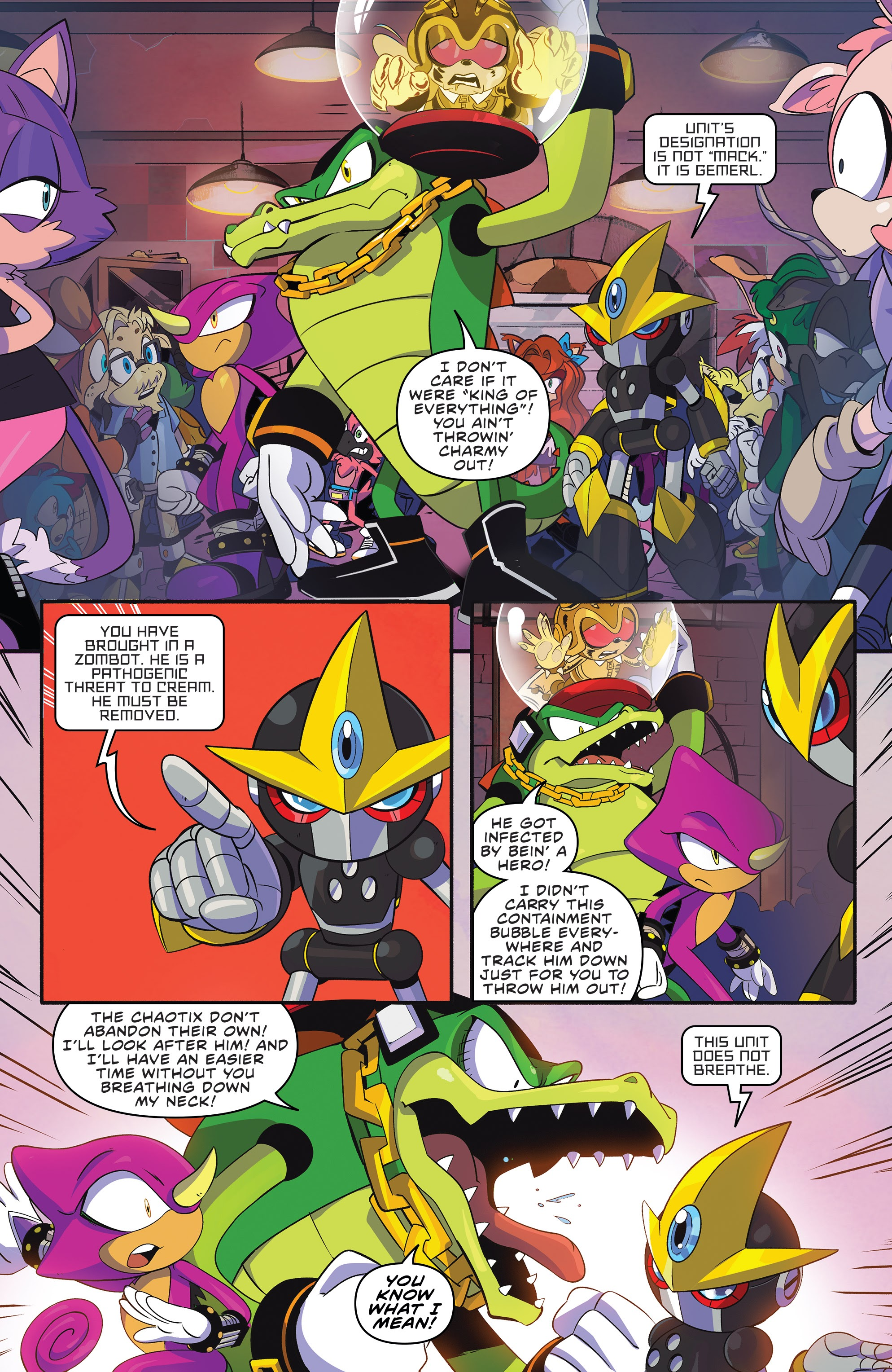 Sonic The Hedgehog 2018 22 Read Sonic The Hedgehog 2018 Issue 22 Online Full Page