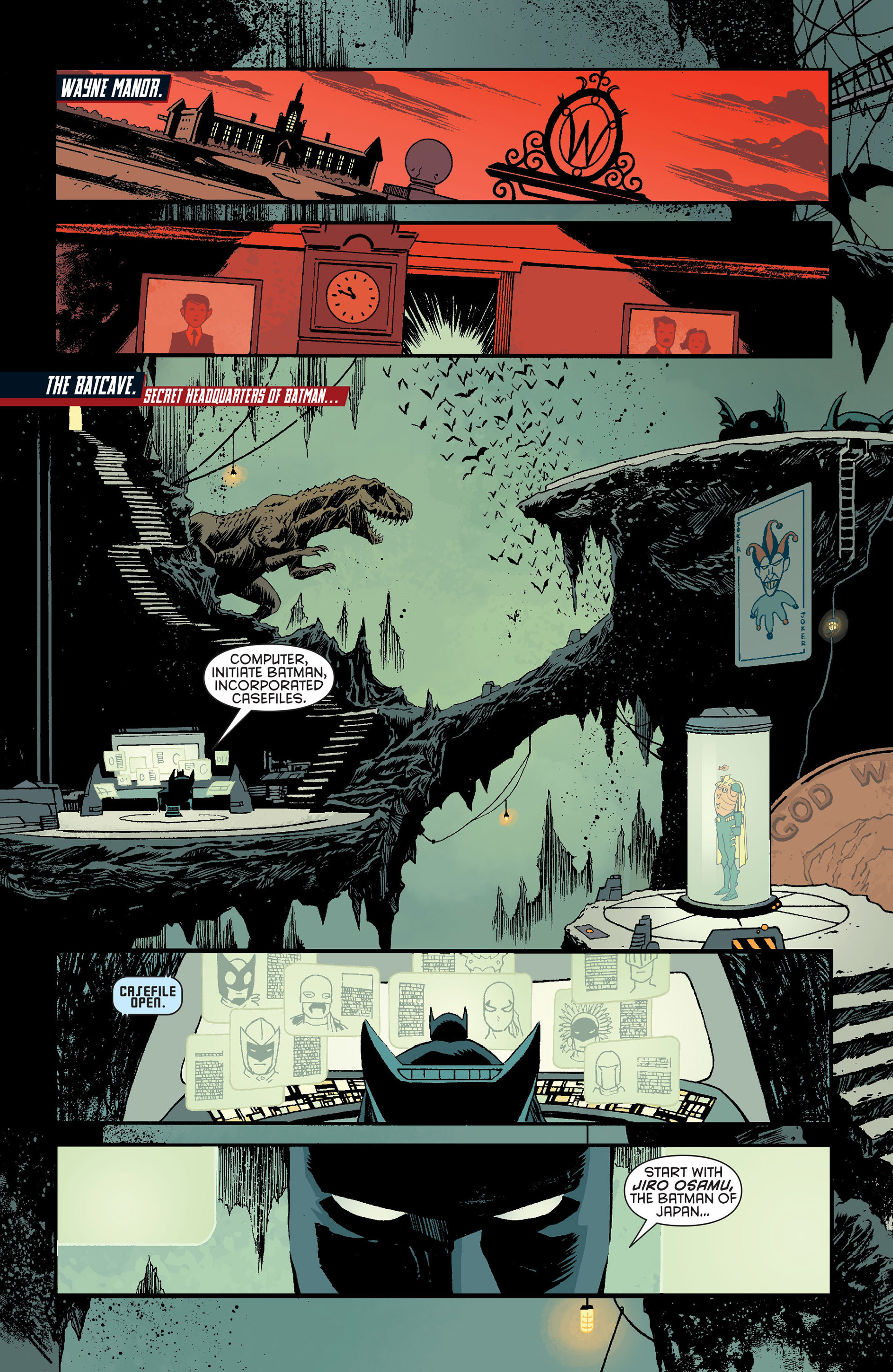 Read online Batman Incorporated (2012) comic -  Issue # _Special 1 - 2
