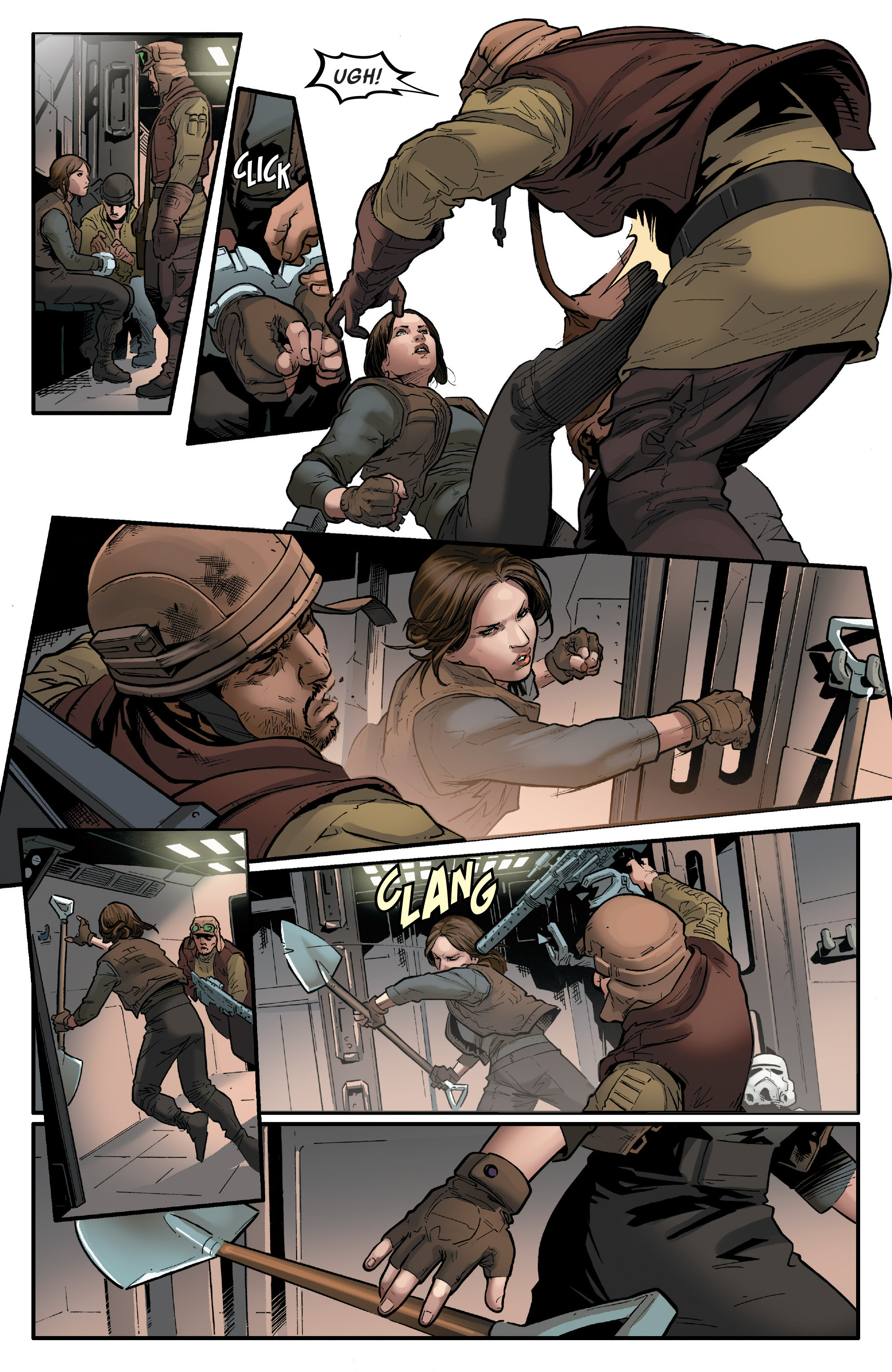 Read online Star Wars: Rogue One Adaptation comic -  Issue #1 - 18