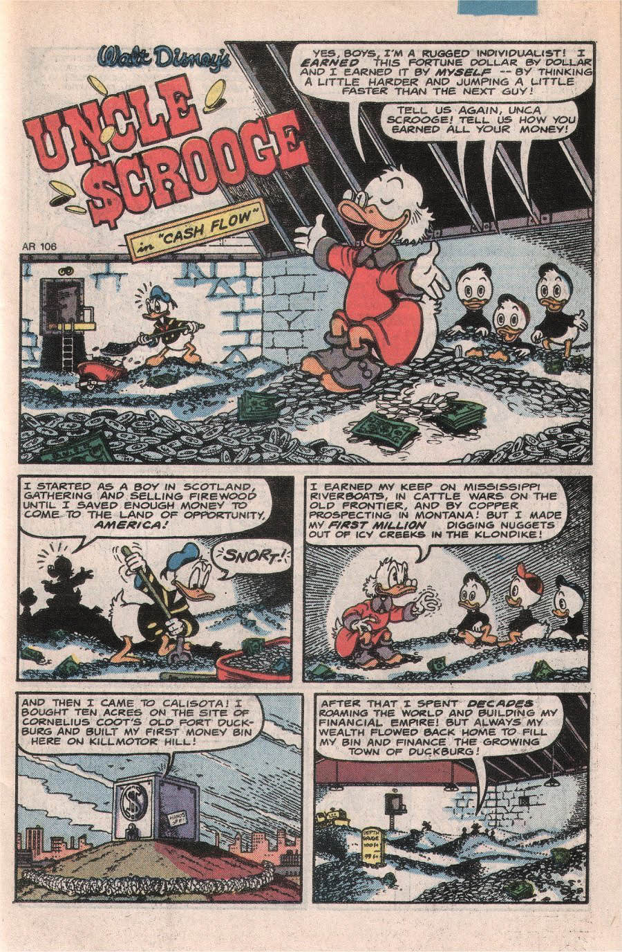 Read online Uncle Scrooge (1953) comic -  Issue #224 - 3