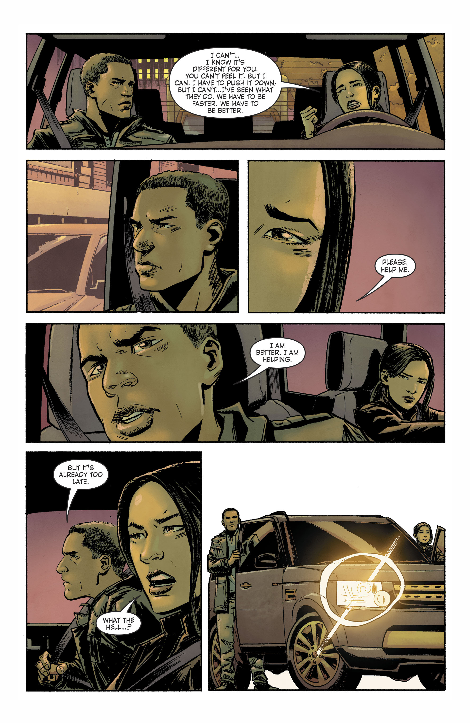 Read online Savage Things comic -  Issue #3 - 8