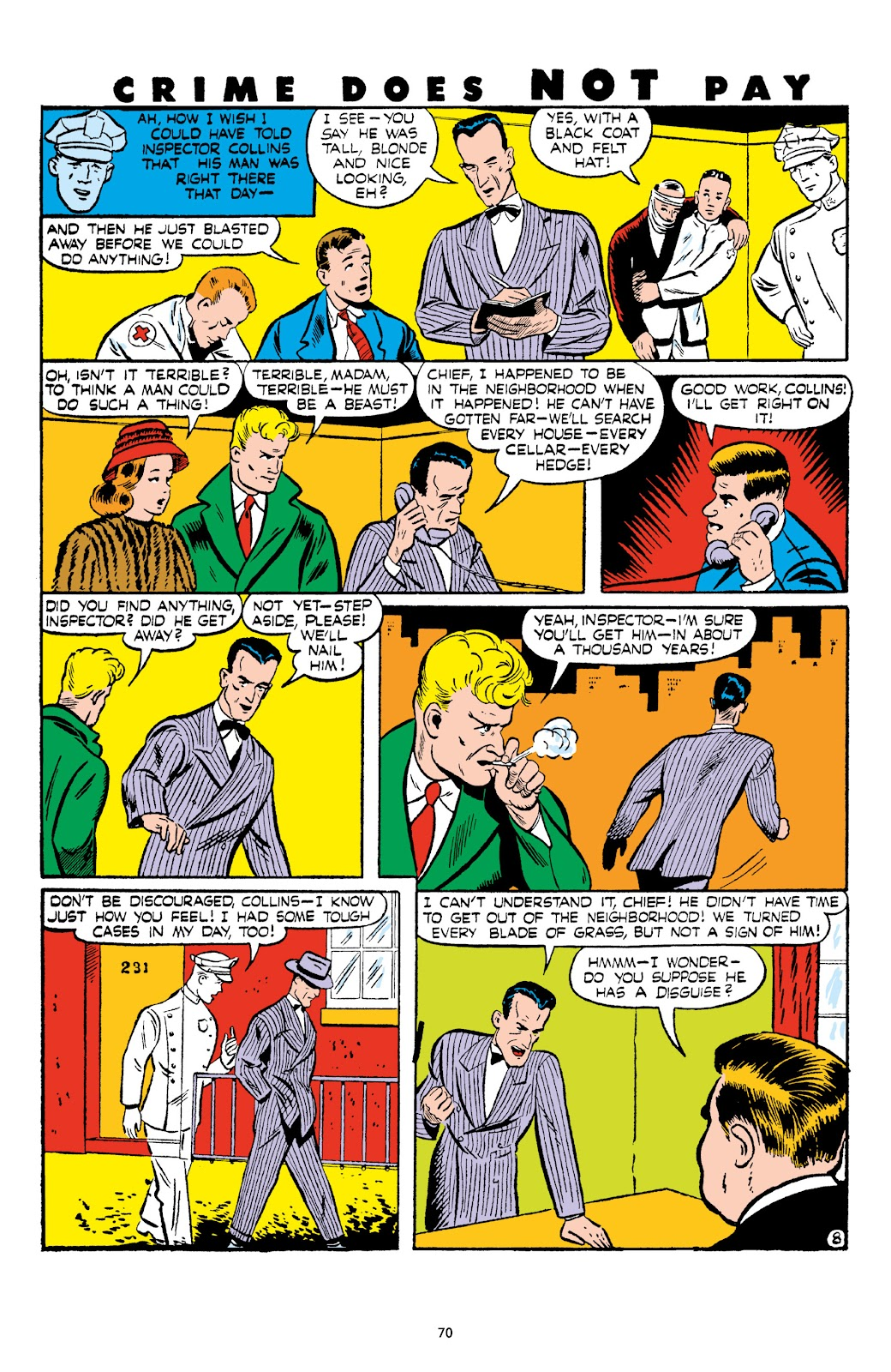 Read online Crime Does Not Pay Archives comic -  Issue # TPB 6 (Part 1) - 72